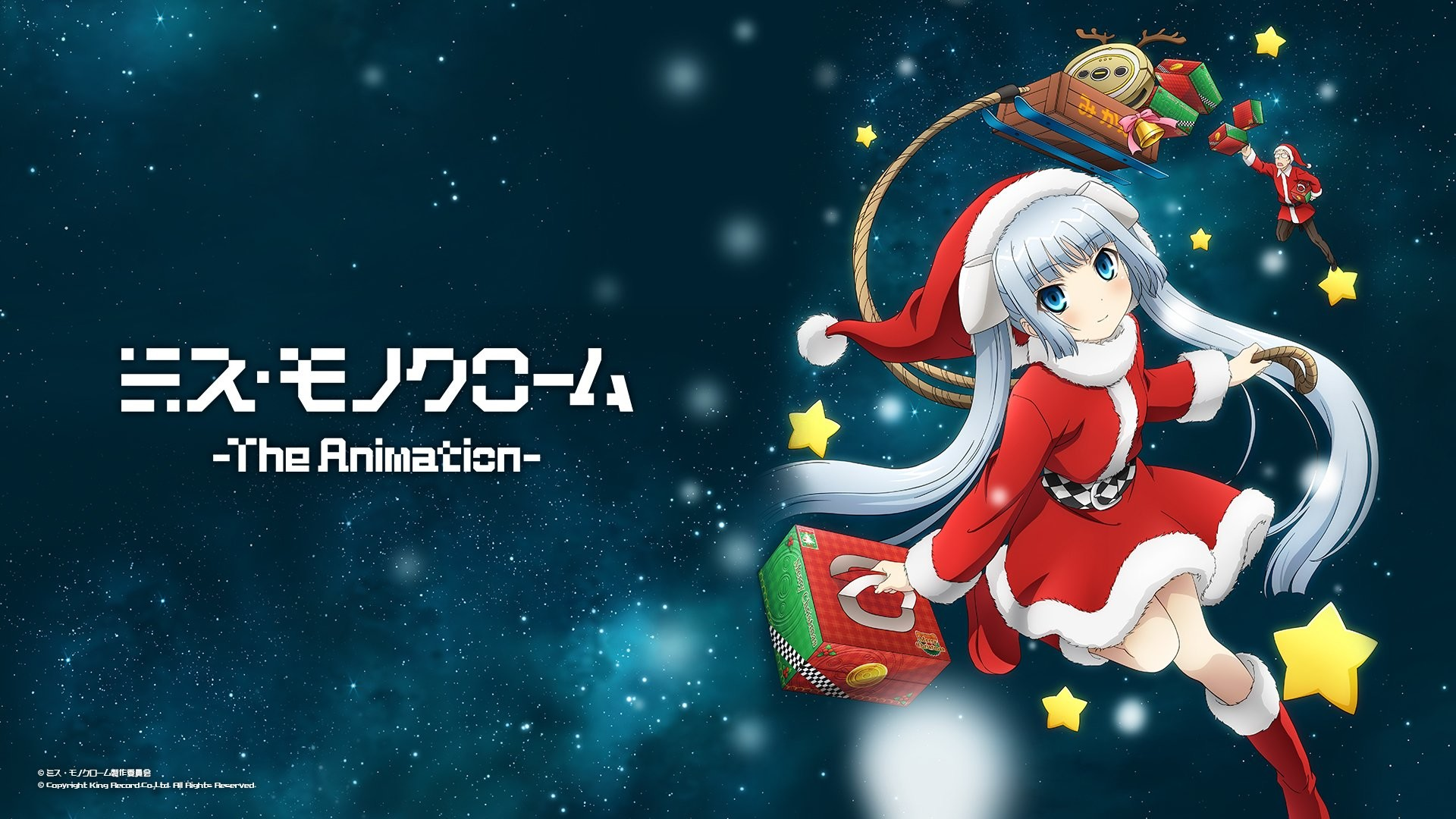 1920x1080 Maneo Miss Monochrome Wallpapers by Adam Barlow