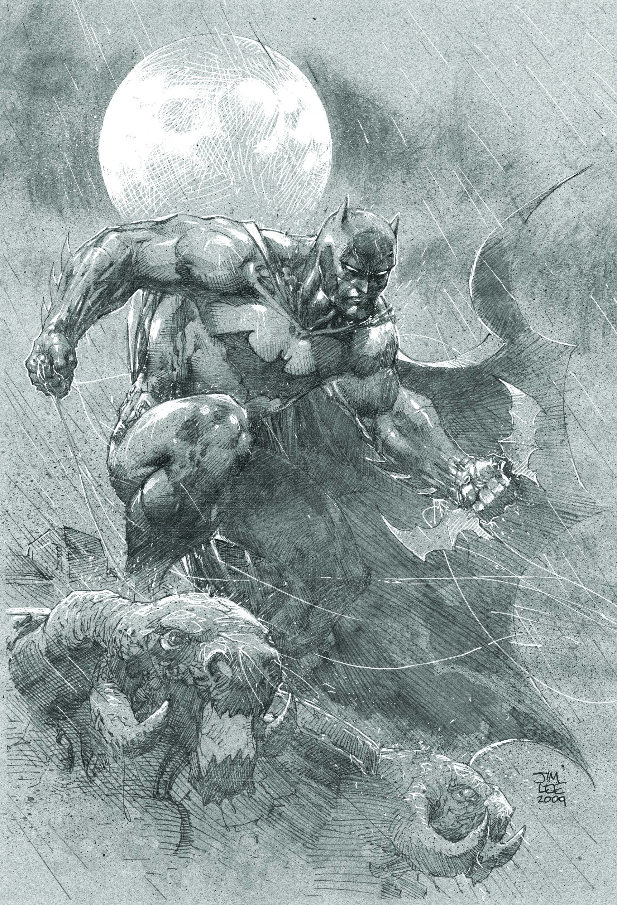 1980x2902 El arte de Jim Lee. Batman HushJim ...