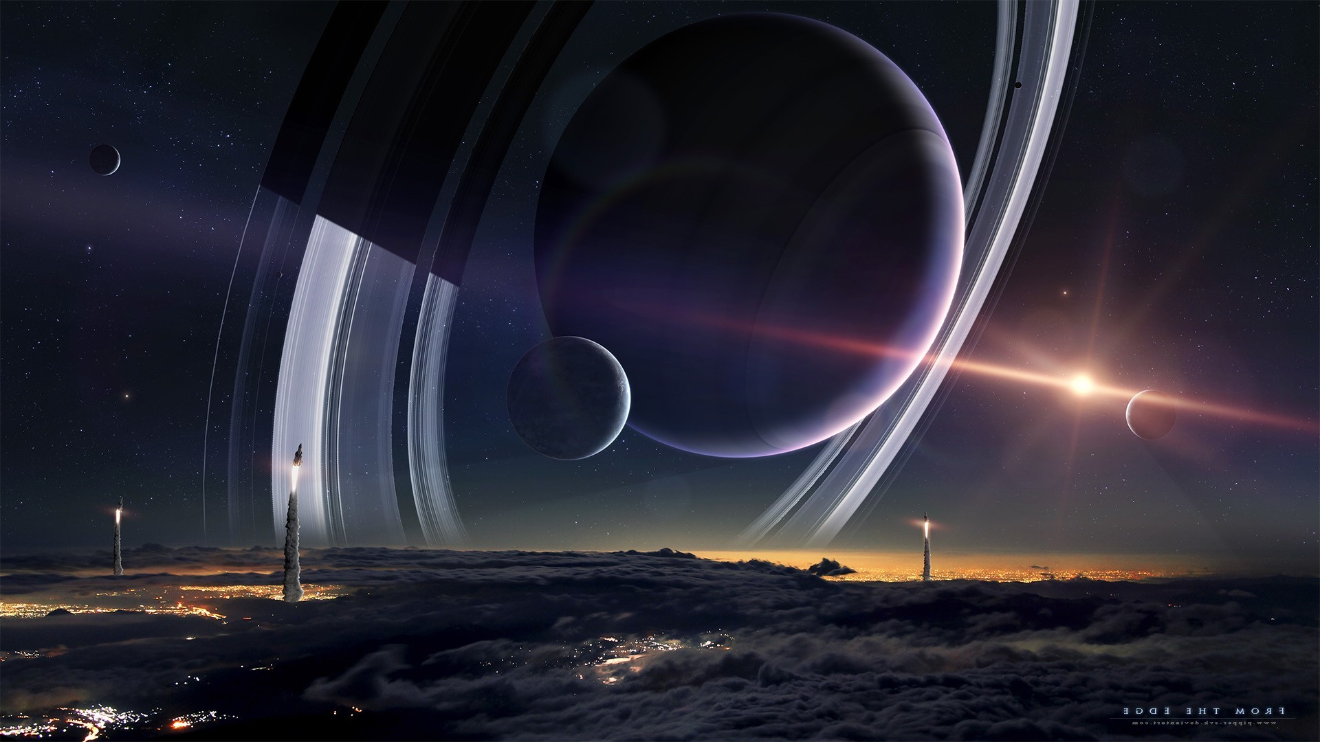 Space planet wallpapers 76 images - Space moon wallpaper ...