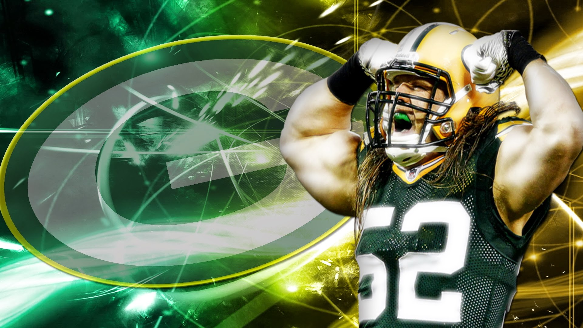 Green Bay Packer Wallpaper: Green Bay Packers Wallpaper Graphic (68+ Images