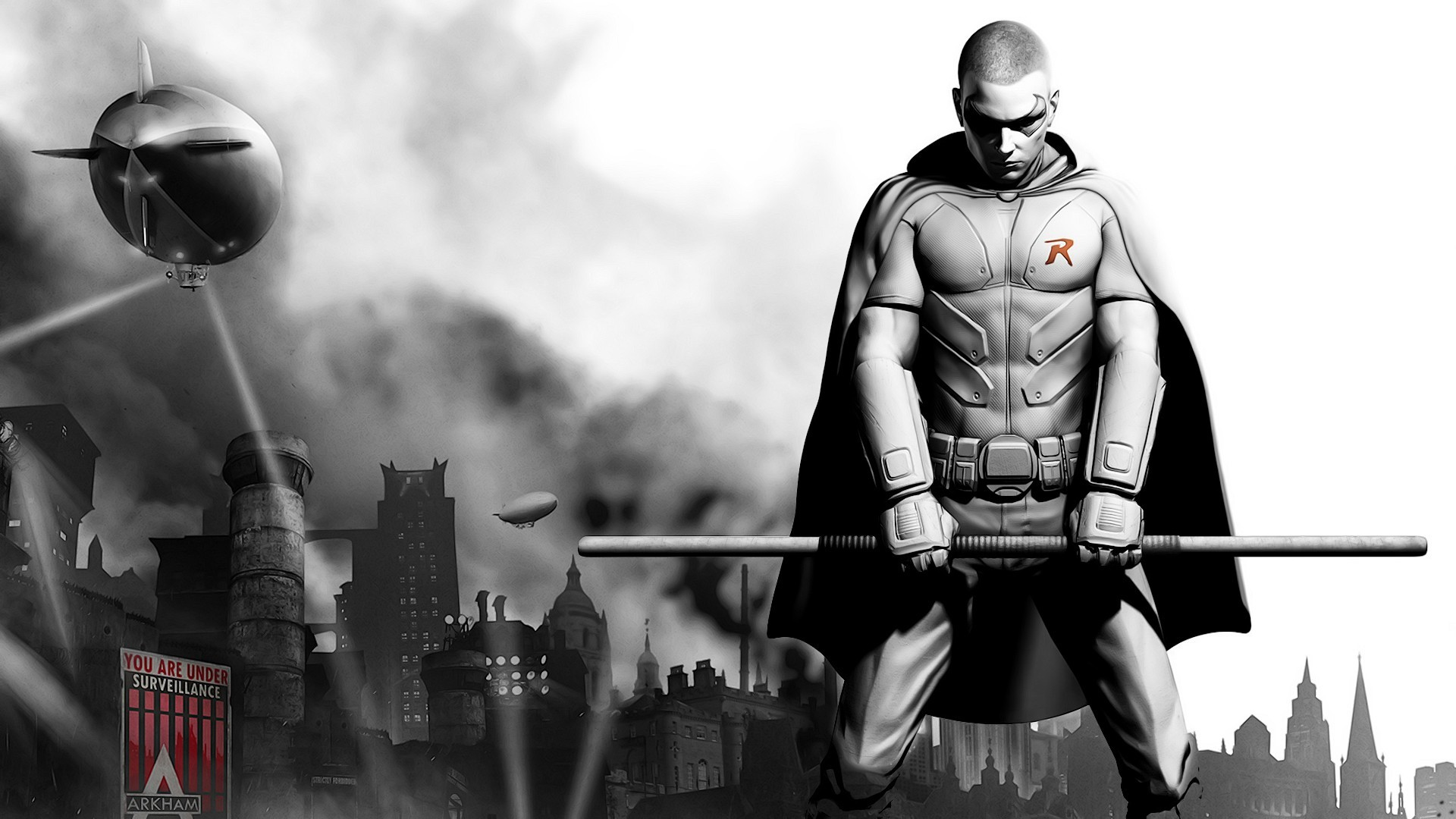 1920x1080 Batman Arkham City - Robin  wallpaper