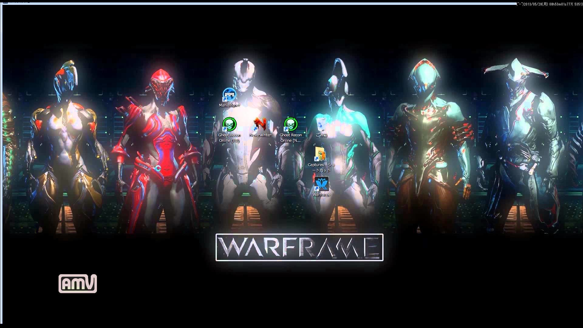 Group of Warframe Volt Wallpaper By