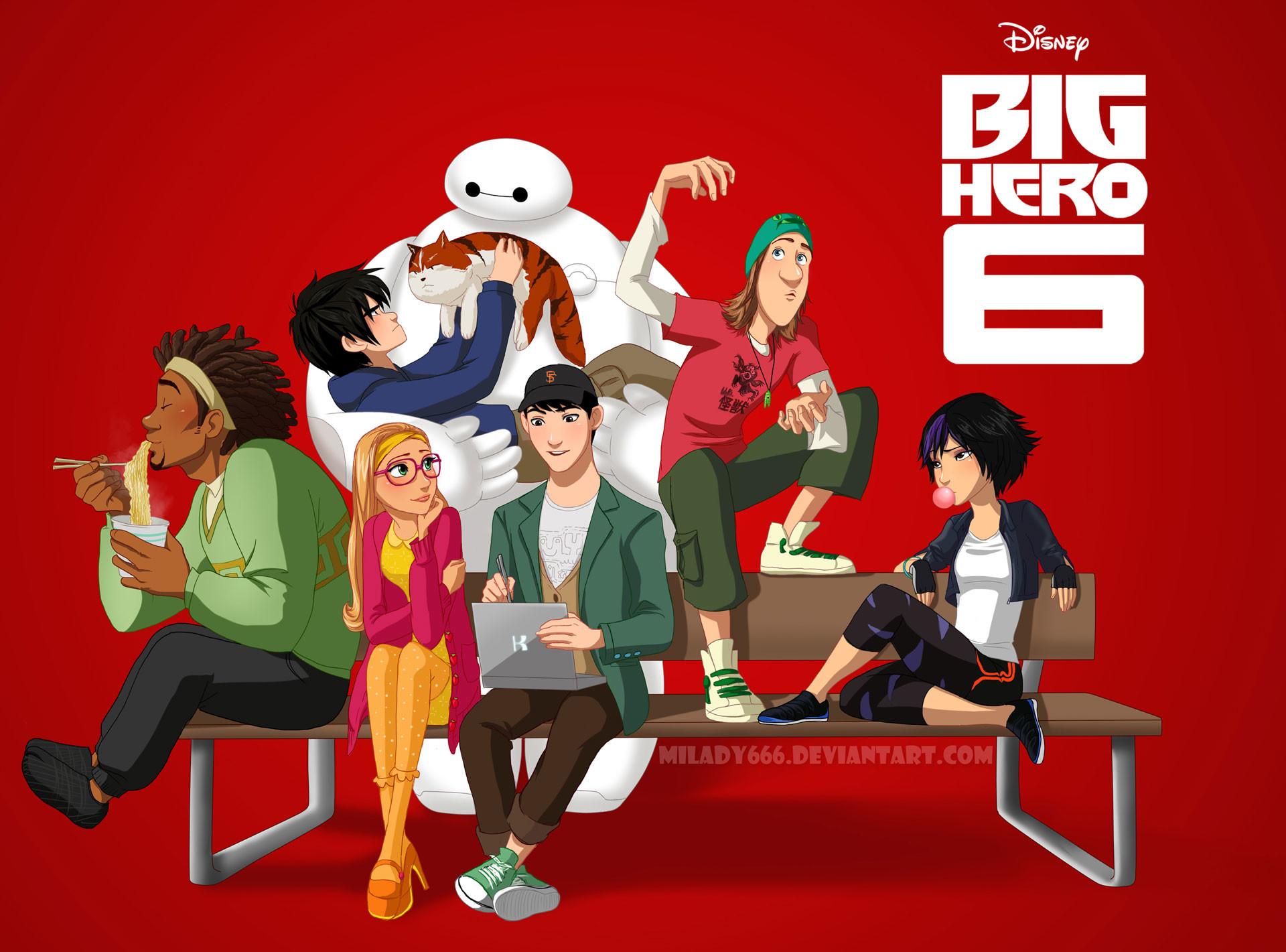 Big Hero 6 Wallpapers 80 Images