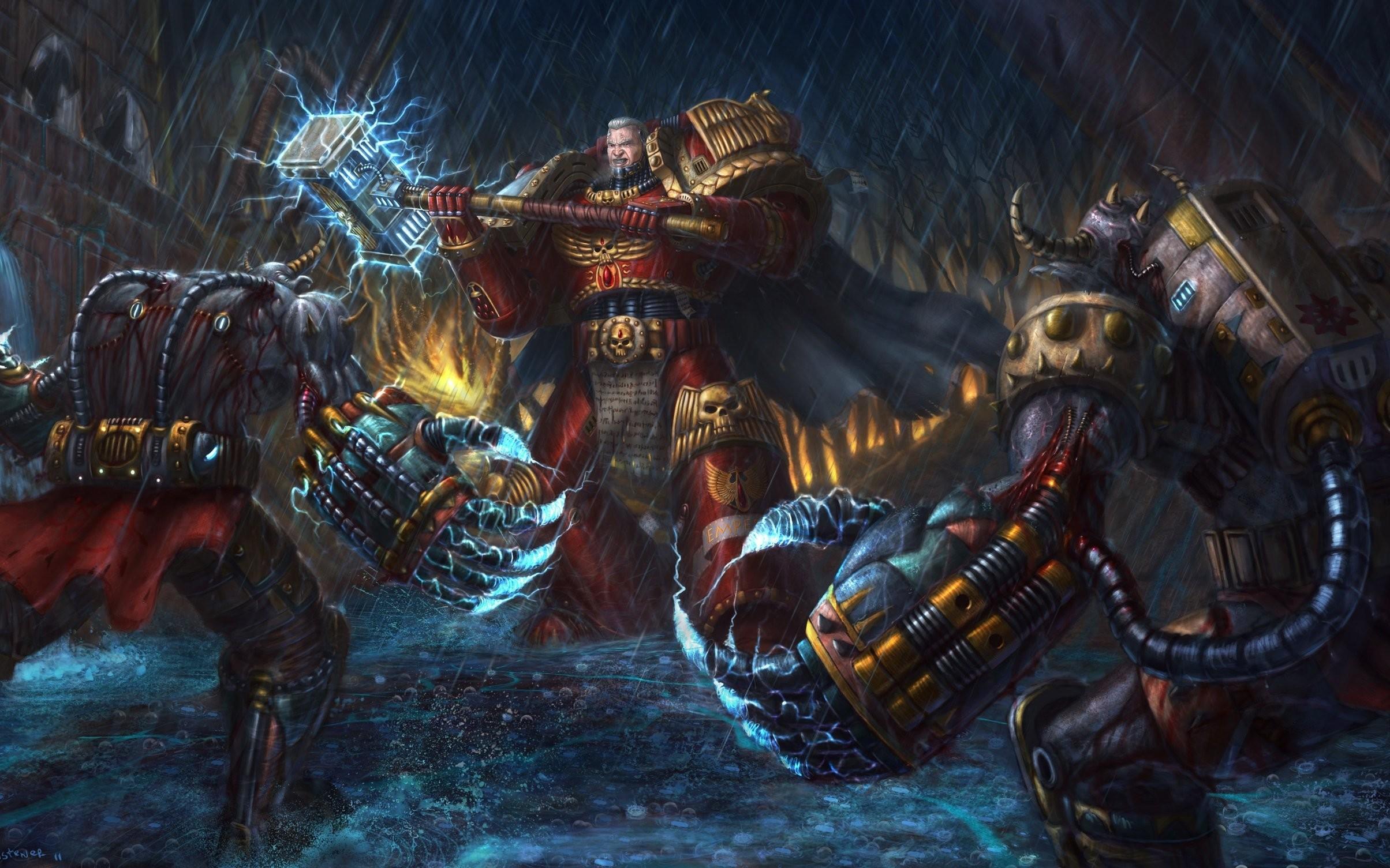 [39+] Warhammer 40k Chaos Wallpaper on WallpaperSafari