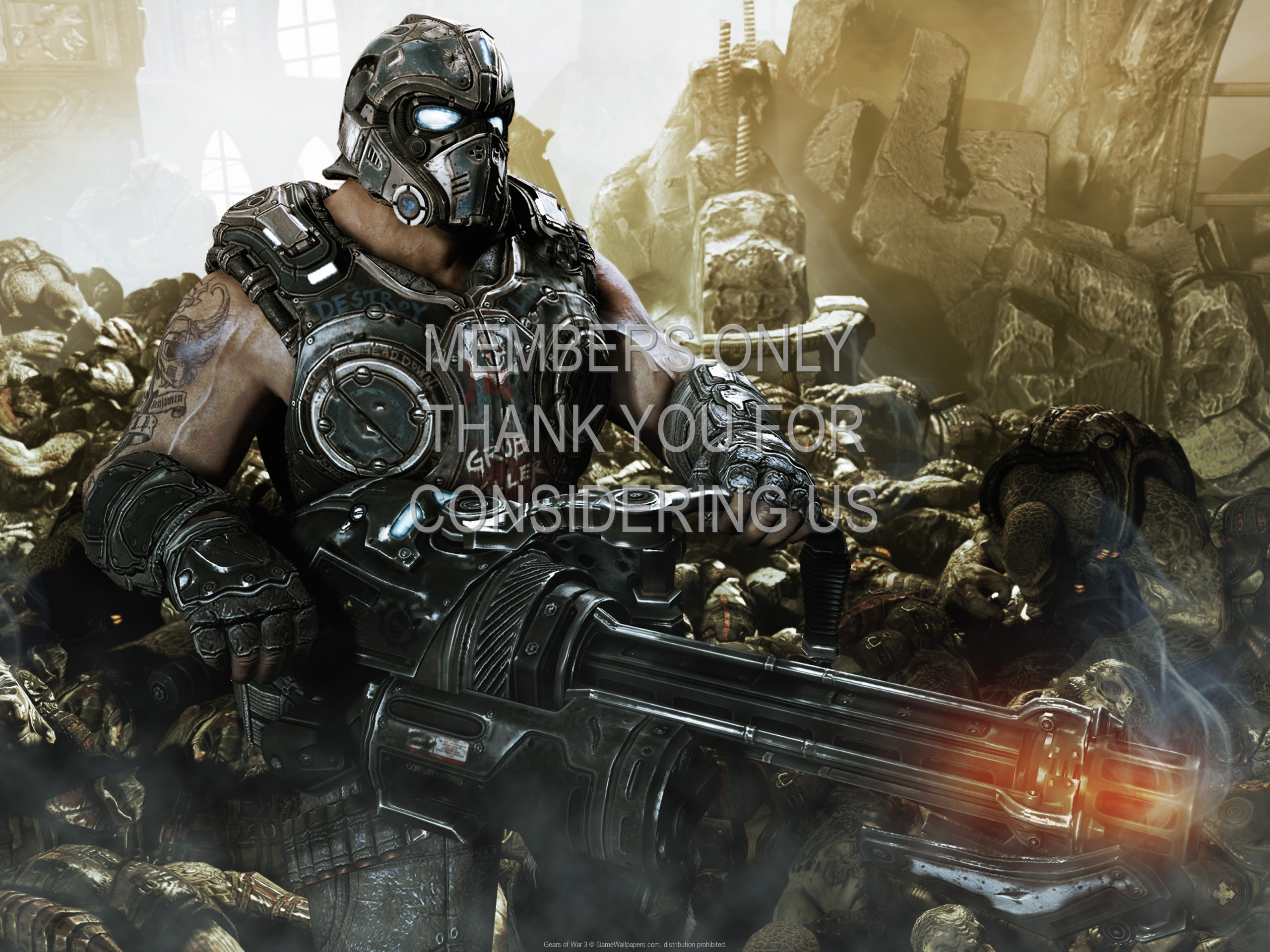 2560x1920 Gears of War 3 wallpaper 02 @ 1920x1080