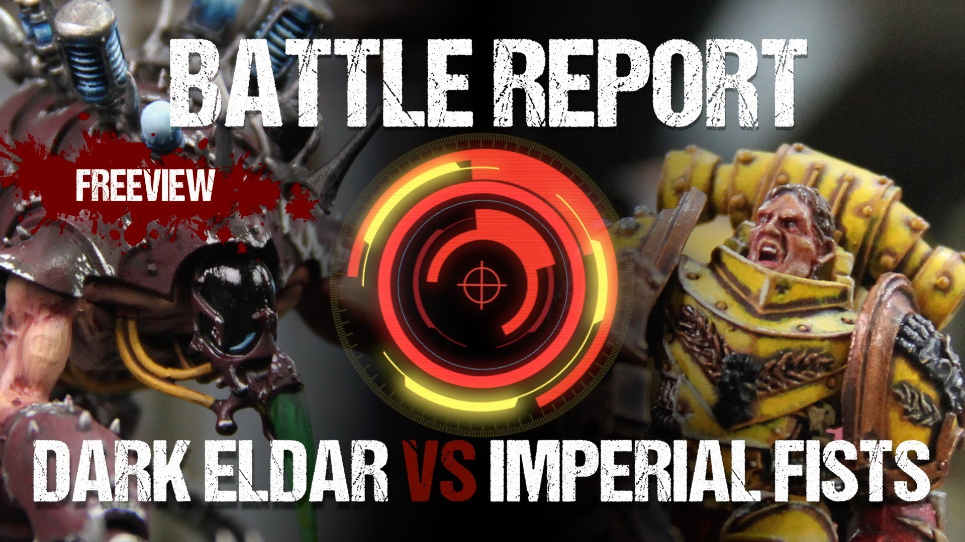 1920x1080 Warhammer 40,000 Battle Report: Dark Eldar vs Imperial Fists 1650pts -  YouTube