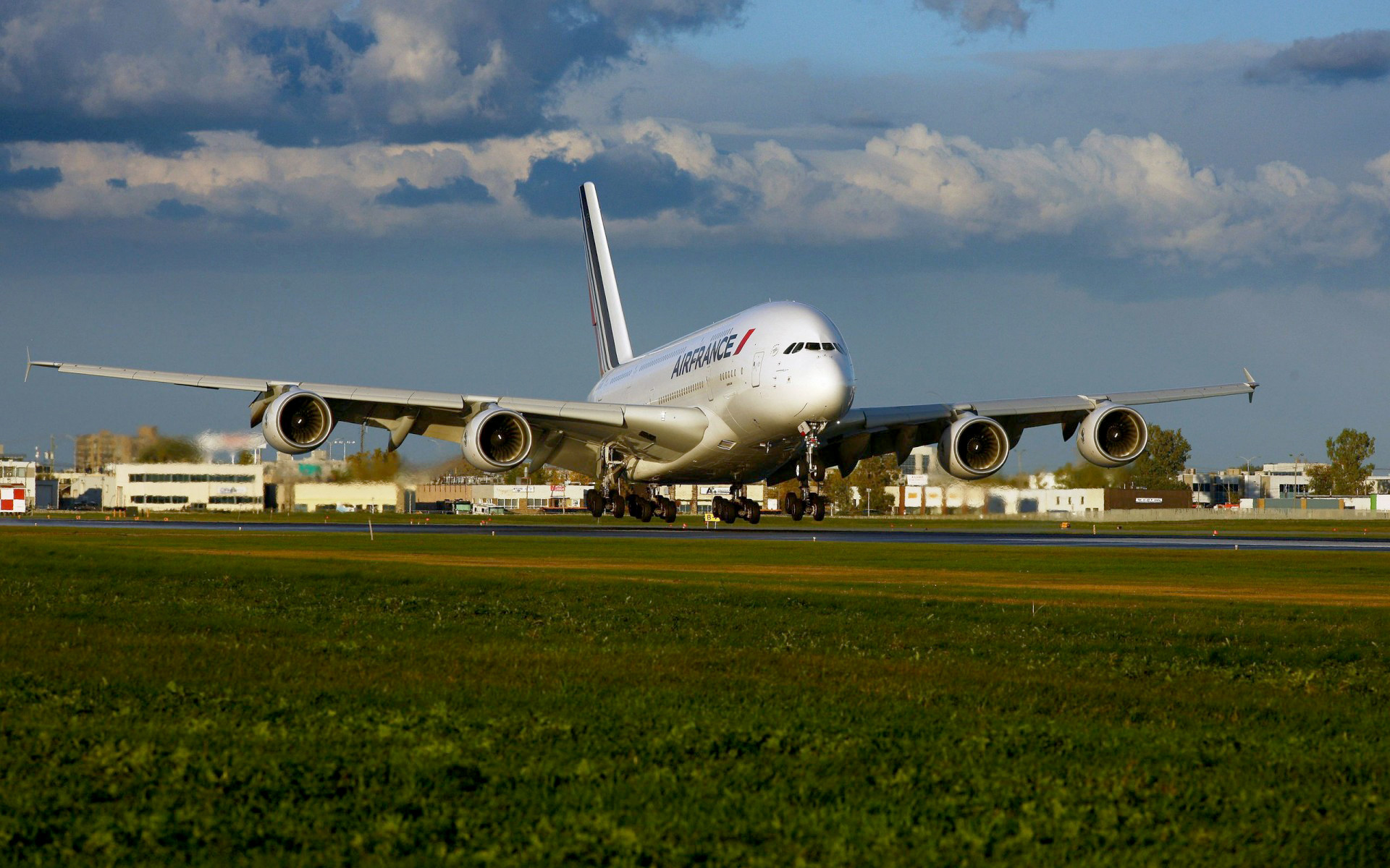 1920x1200 Airbus A380-800 Aircraft Air France Airliners