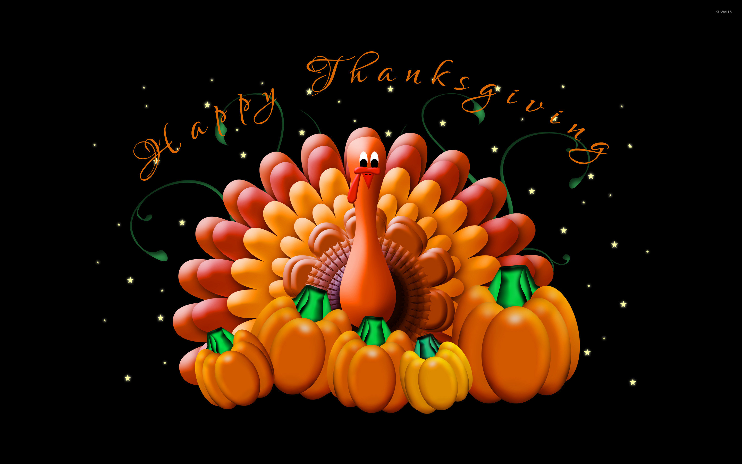 2880x1800 Happy Thanksgiving wallpaper