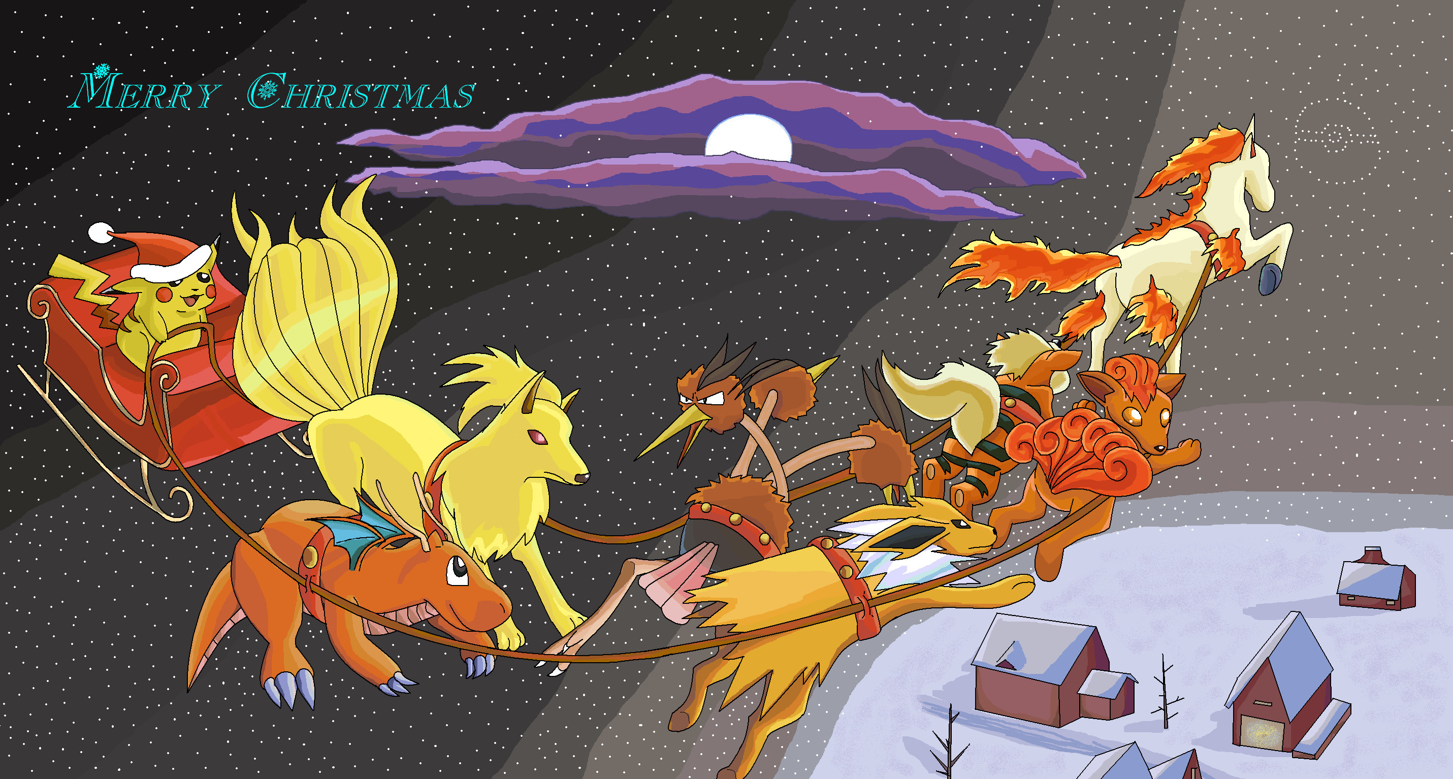 2861x1534 Pokemon Christmas 2000! by SalamencePaint Pokemon Christmas 2000! by  SalamencePaint