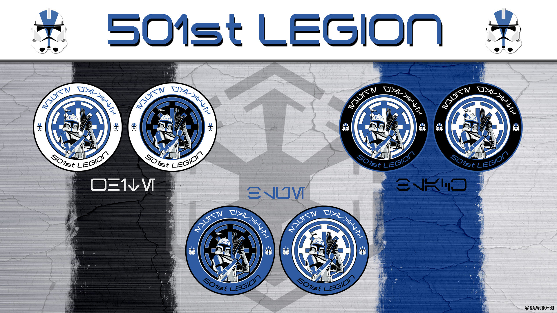 1920x1080 ... 501st Legion Logo by Samcro-33