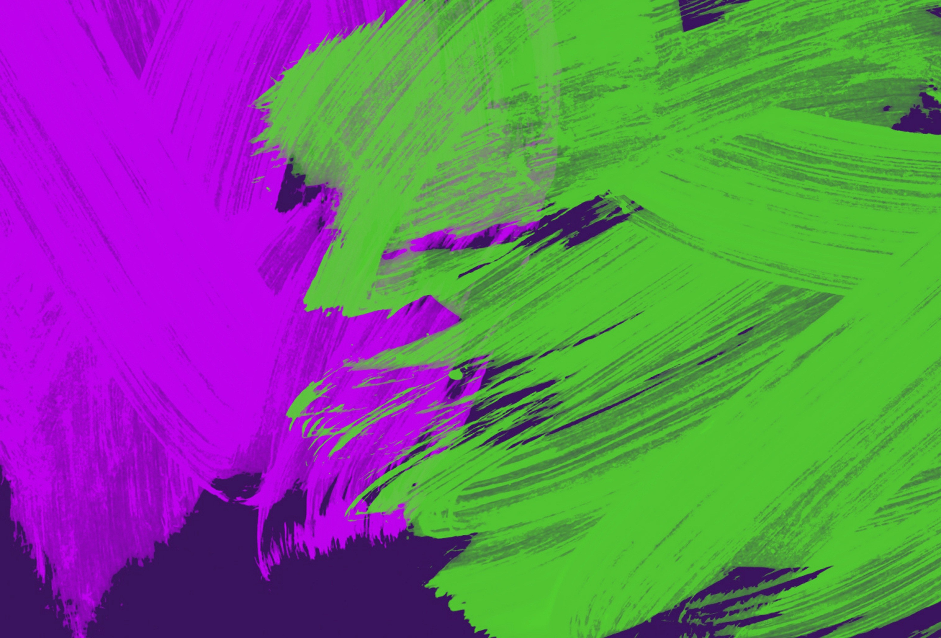3158x2144 background with neon purple and green touches