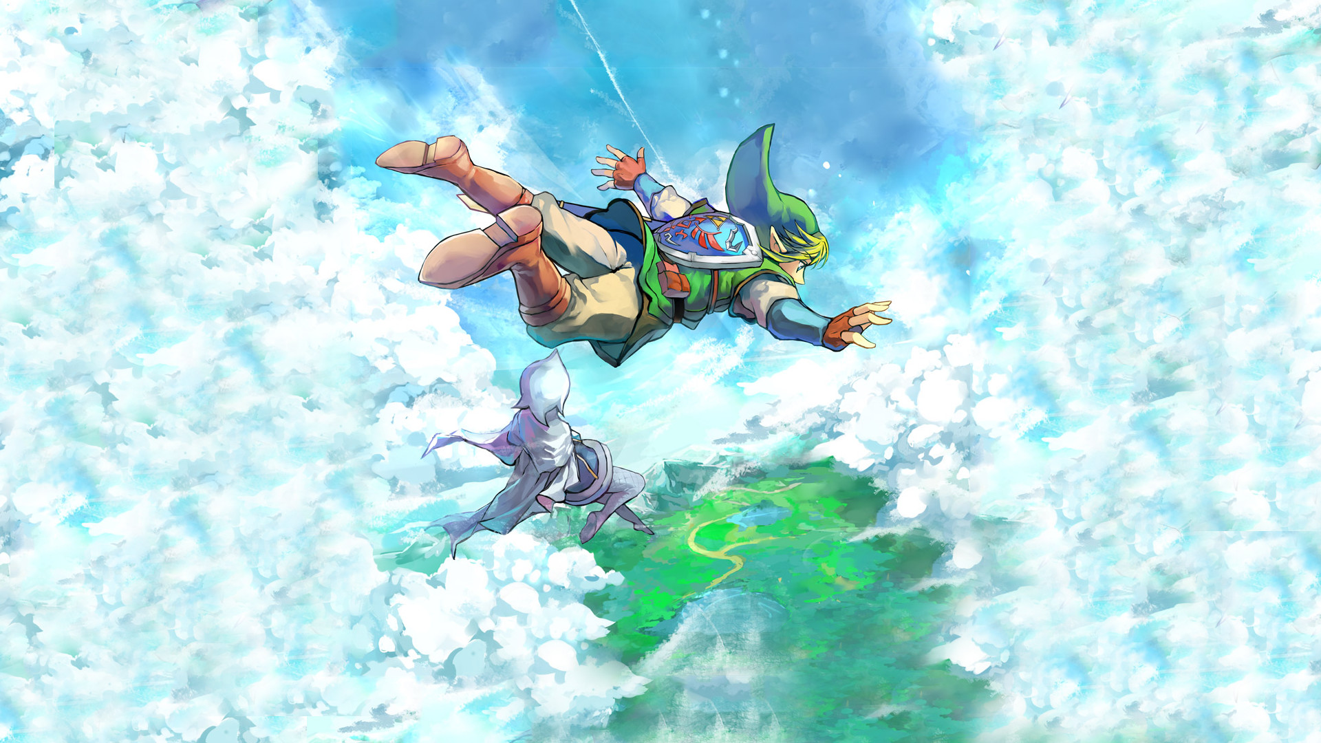 1920x1080 Video Game - The Legend Of Zelda: Skyward Sword Wallpaper