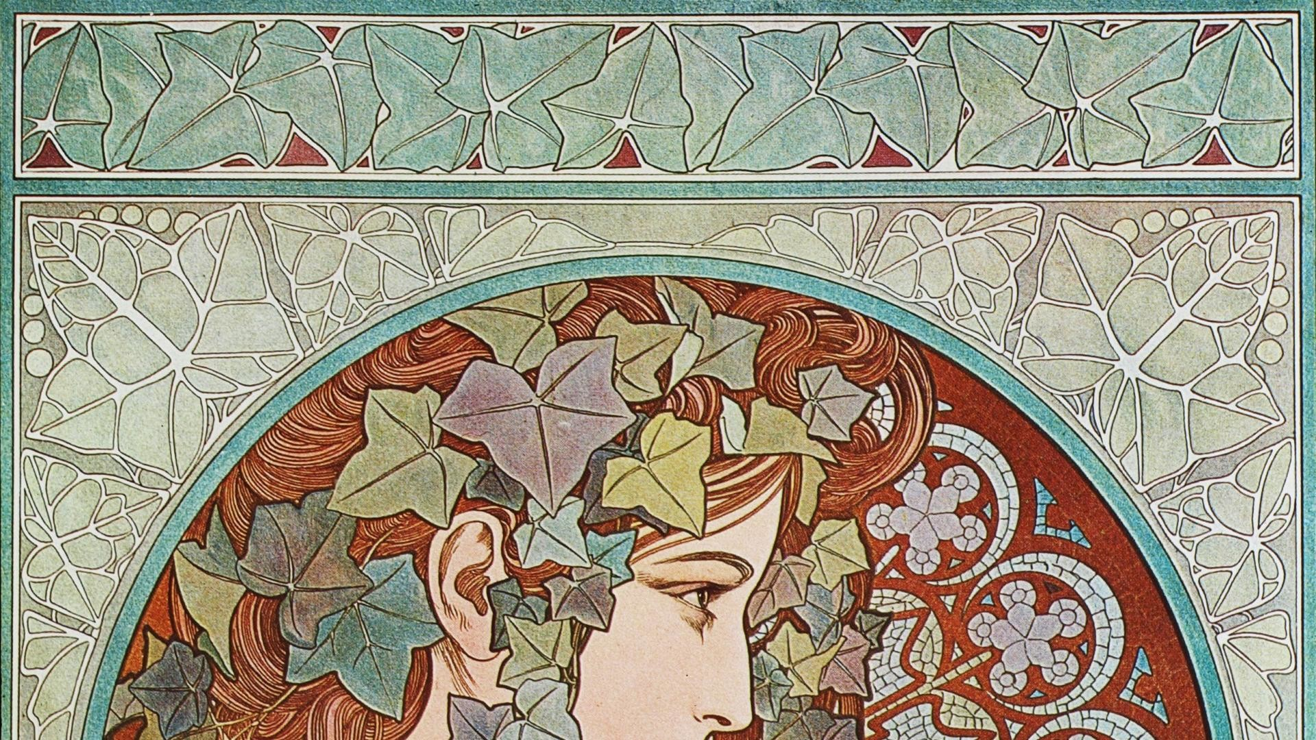 1920x1080 Alphonse Mucha Wallpapers Photo