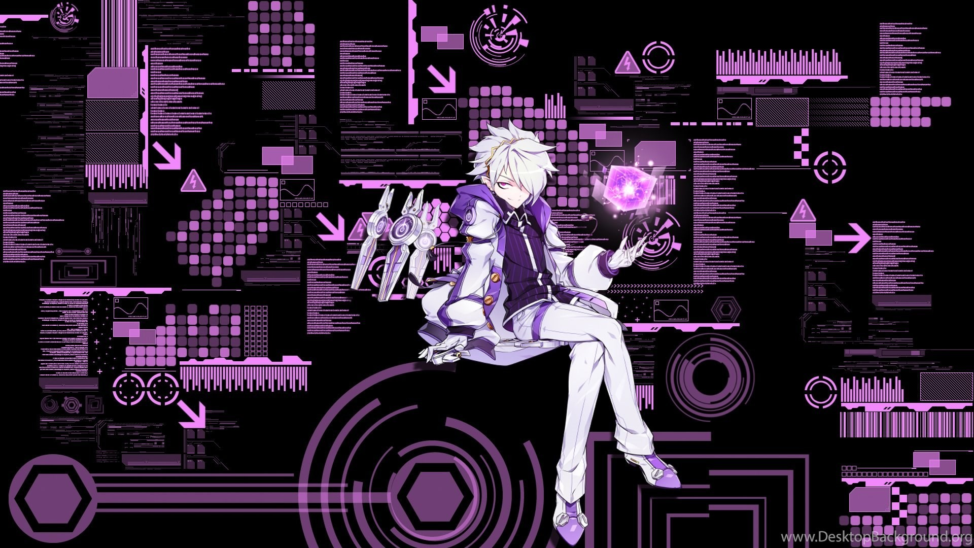 1920x1080 DeviantArt: More Like Elsword:Add Time Tracer Wallpapers 2 By .