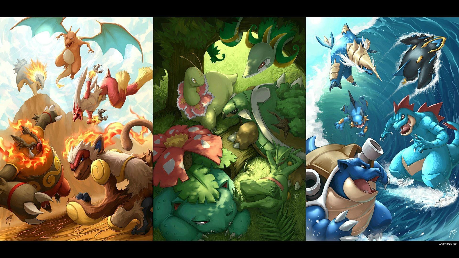 1920x1080 One of my favorite pokemon wallpapers ...