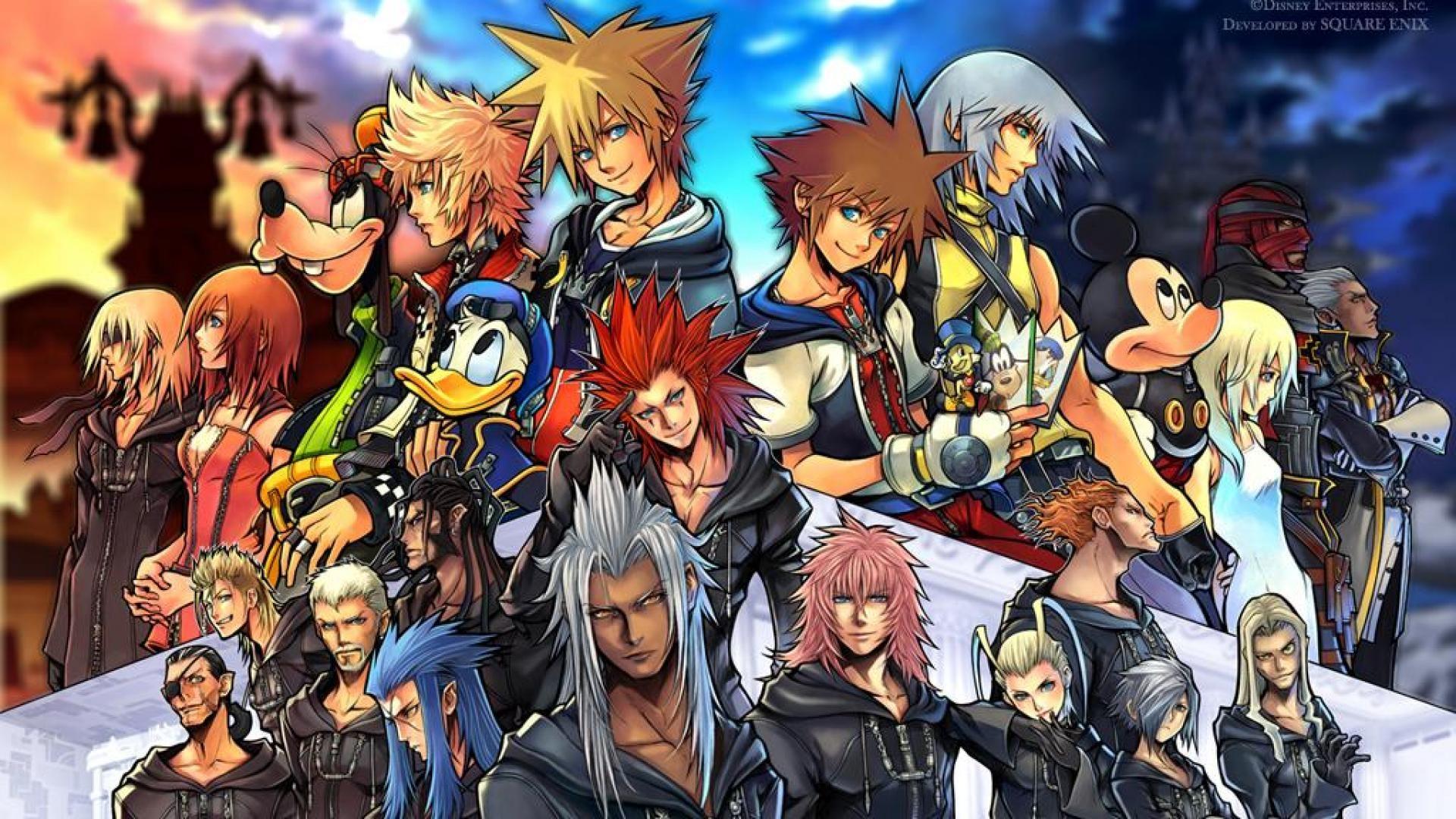 Kingdom Hearts Hd Wallpaper 67 Images