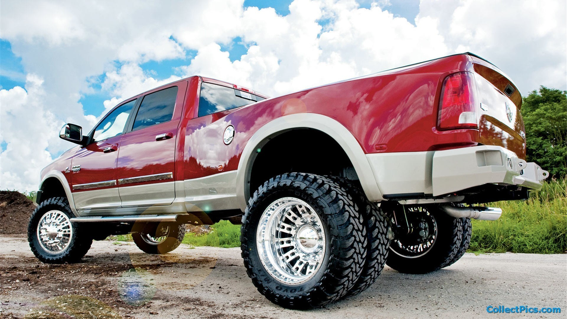 1920x1080   Lifted Truck Wallpaper · Download · Cool .
