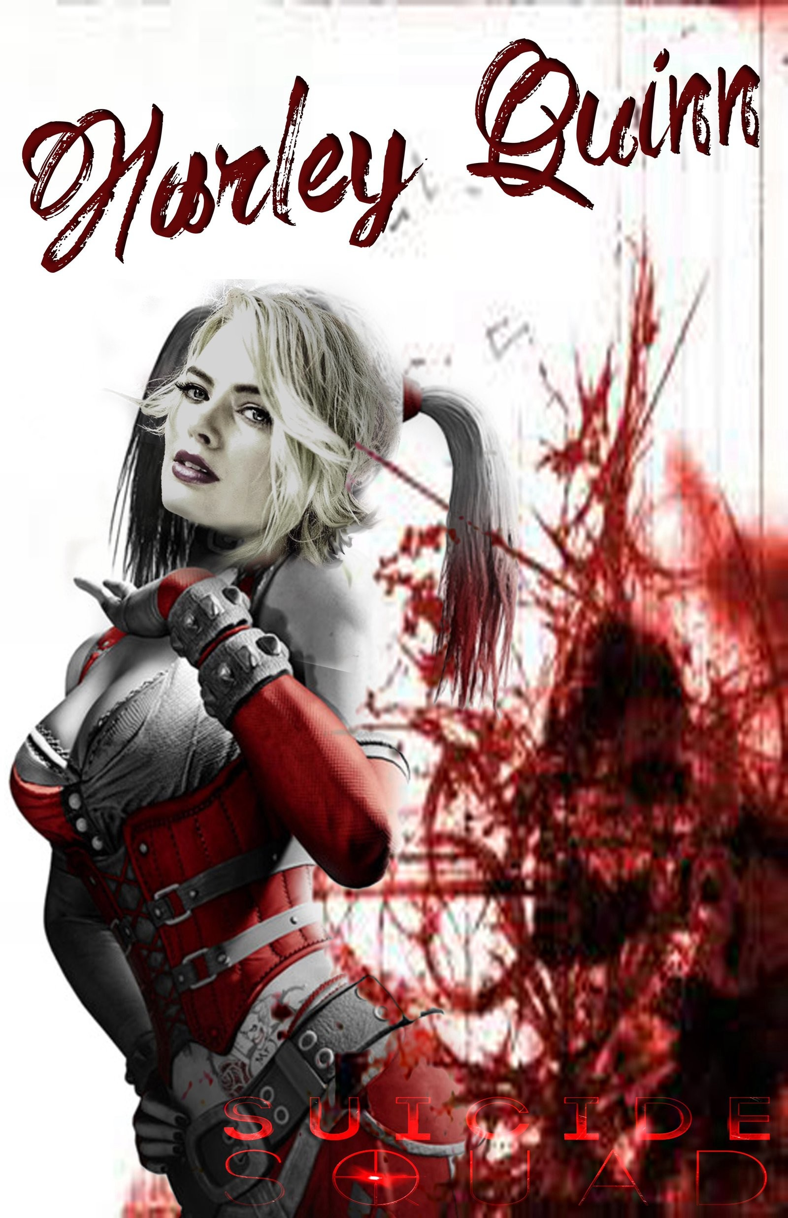 1600x2473 ... margot robbie harley quinn wallpaper wallpapersafari ...