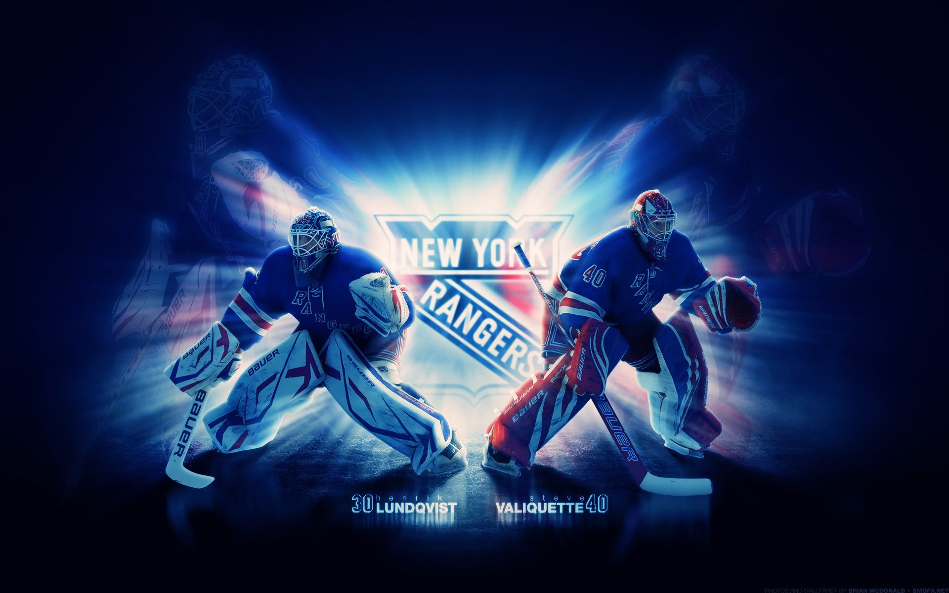 1920x1200 Photo In High Quality - NY Rangers Logo by Olamilekan Ferrie