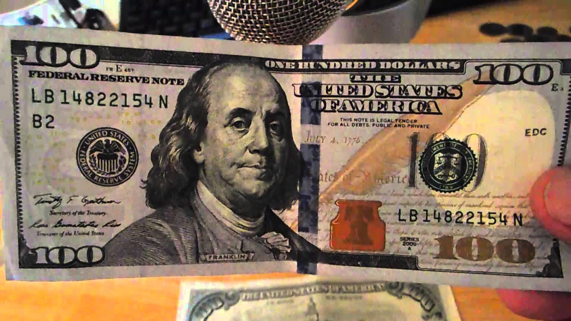 1920x1080 new 100 dollar bill