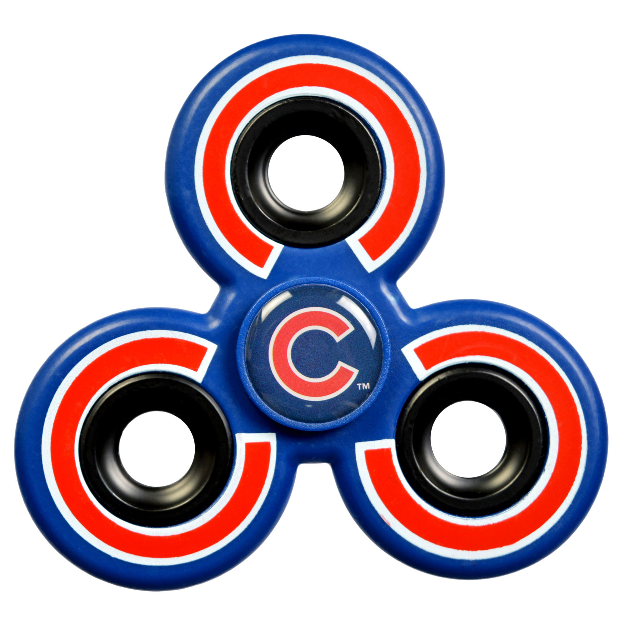 2000x2000 Chicago Cubs Three-Way Molded Logo Fidget Spinner
