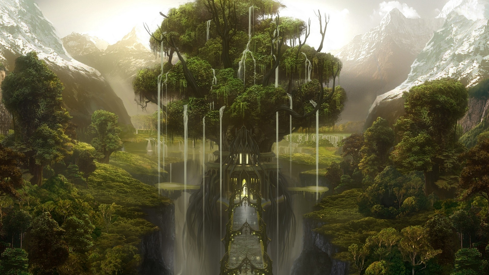 1920x1080 Fantasy Forest Wallpaper [1920 x 1080] ...