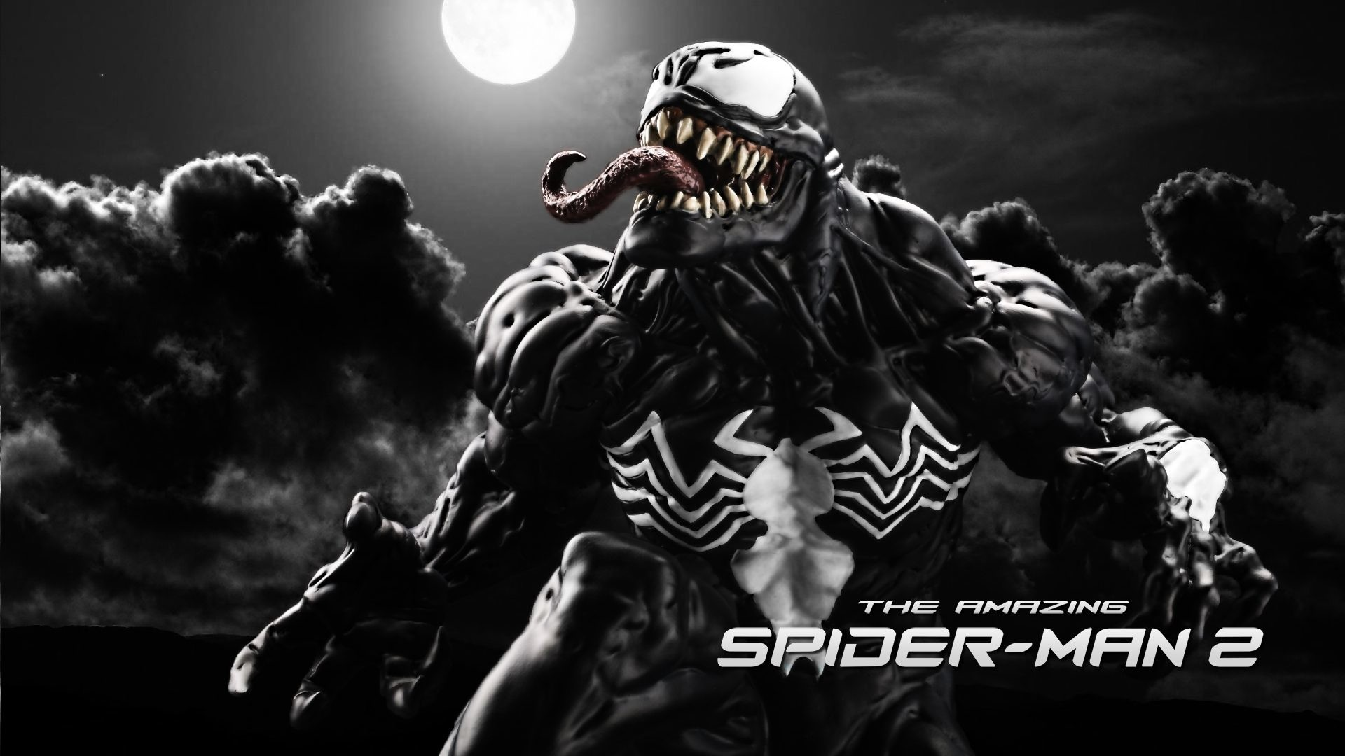 1920x1080 The Amazingpider Man 2 Venom 4K Uhd Wallpaper