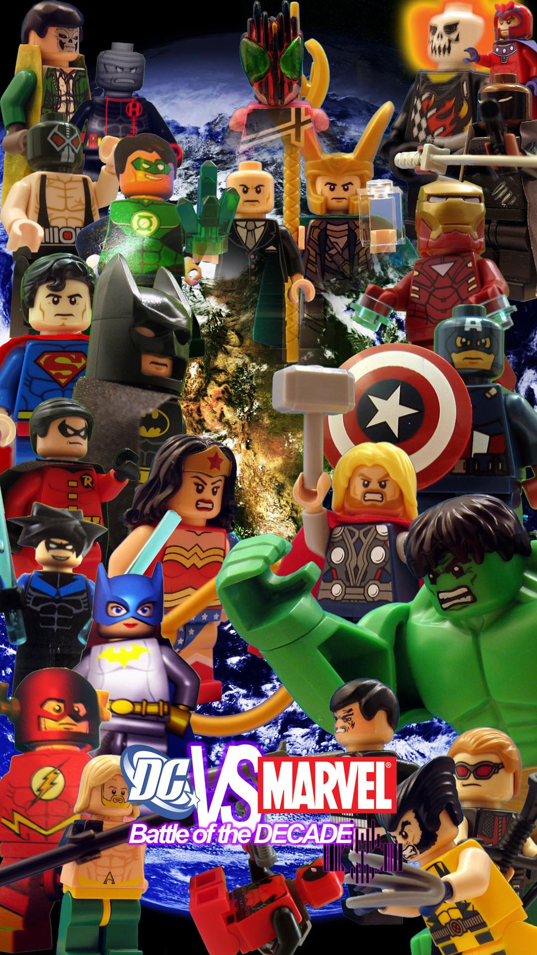 Marvel Super Heroes 60 Superhéroes: DC Marvel Superheroes Wallpaper (58+ Images