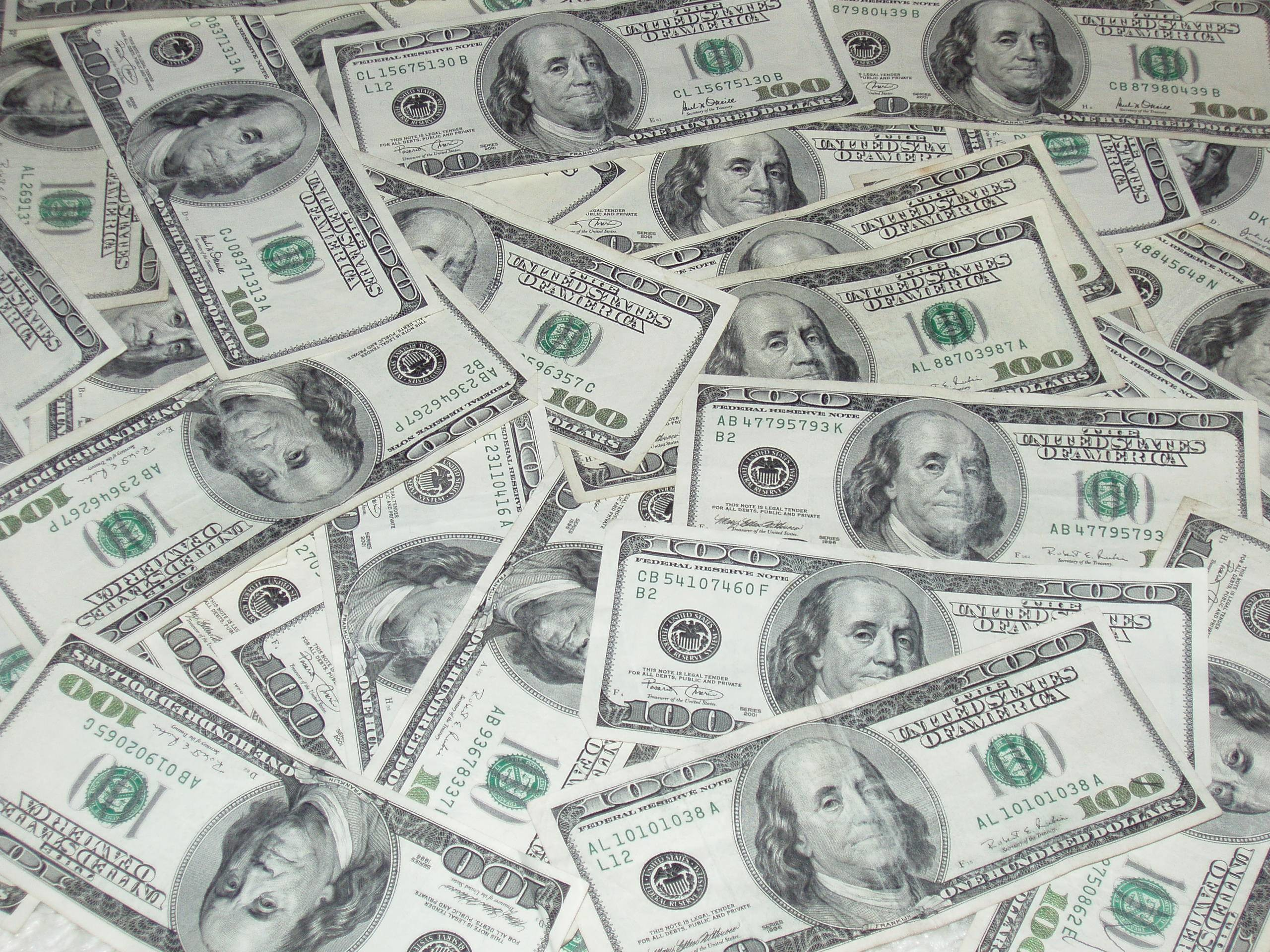 2560x1920 Pix For > Benjamin Franklin 100 Dollar Bill Wallpaper