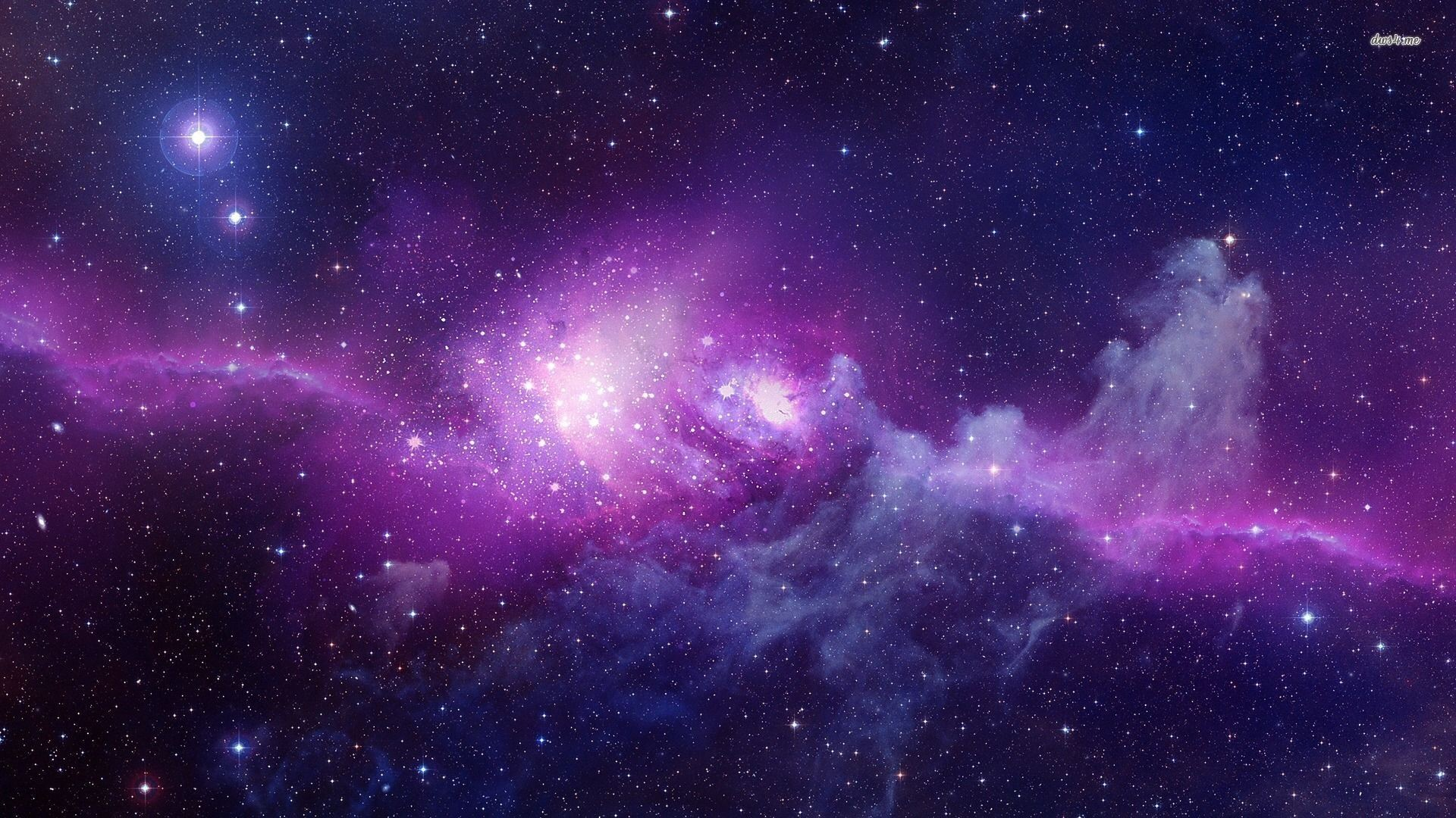 Purple And Blue Galaxy Wallpaper 71 Images