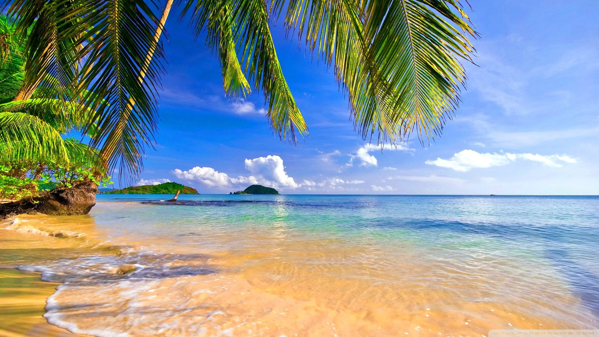 Beach Wallpaper Widescreen High Resolution (60+ Images