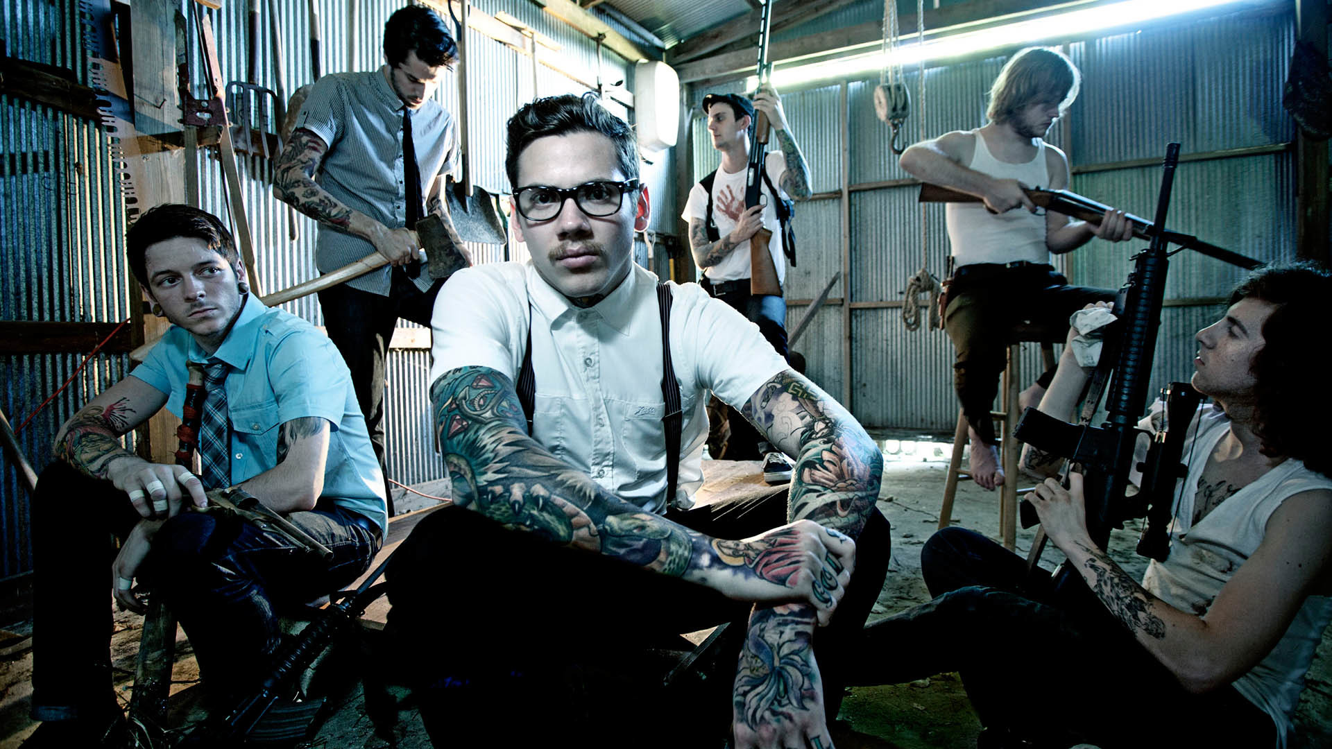 1920x1080 The Devil Wears Prada Band Wallpapers Wallpapers) – HD Wallpapers