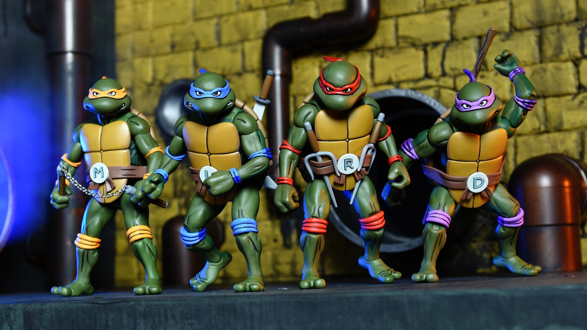 1920x1080 SDCC 2017 Exclusive: NECA Toys – TEENAGE MUTANT NINJA TURTLES COLLECTOR'S  CASE SET