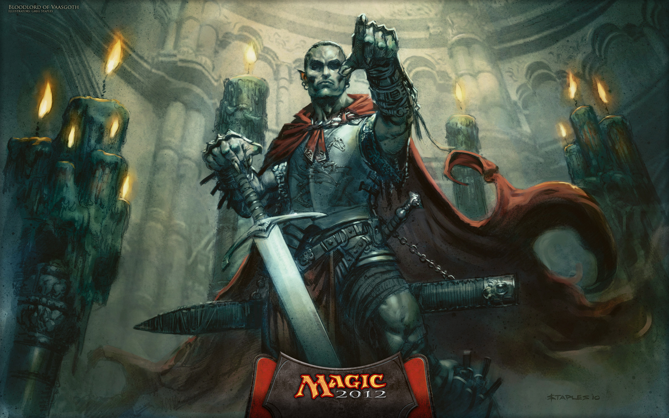 2560x1600 Magic The Gathering Vampire Wallpaper Blood Lord