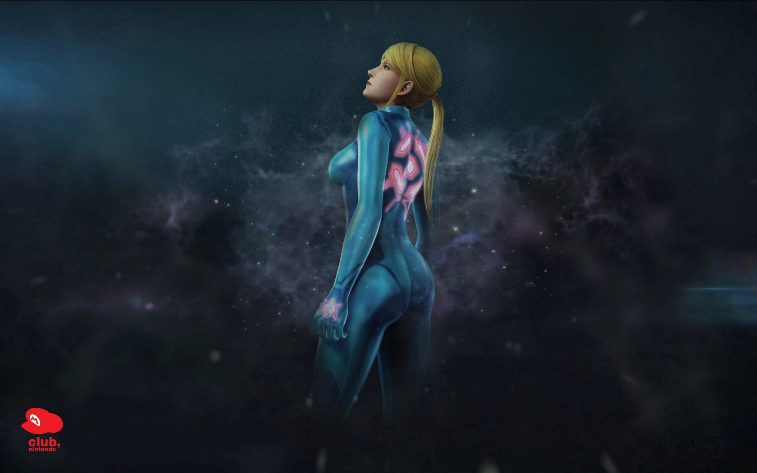 2560x1600 Wallpaper Metroid A Zero Suit Samus Aran
