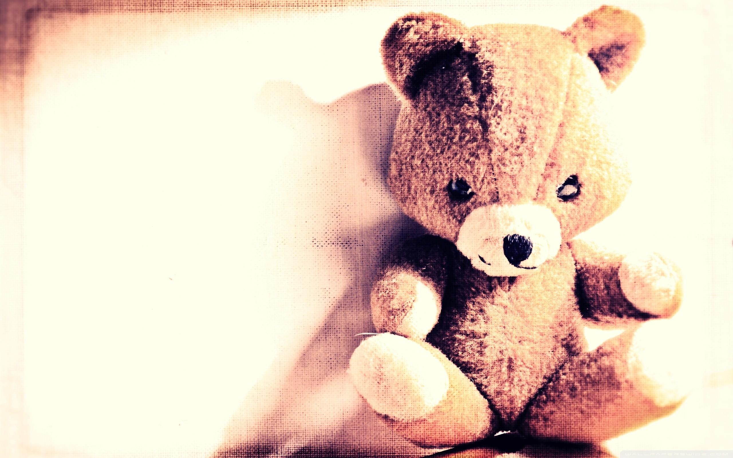 Bunny Cute Pink Teddy Bear Hd Wallpapers For Desktop: Cute Teddy Bears Wallpapers (59+ Images