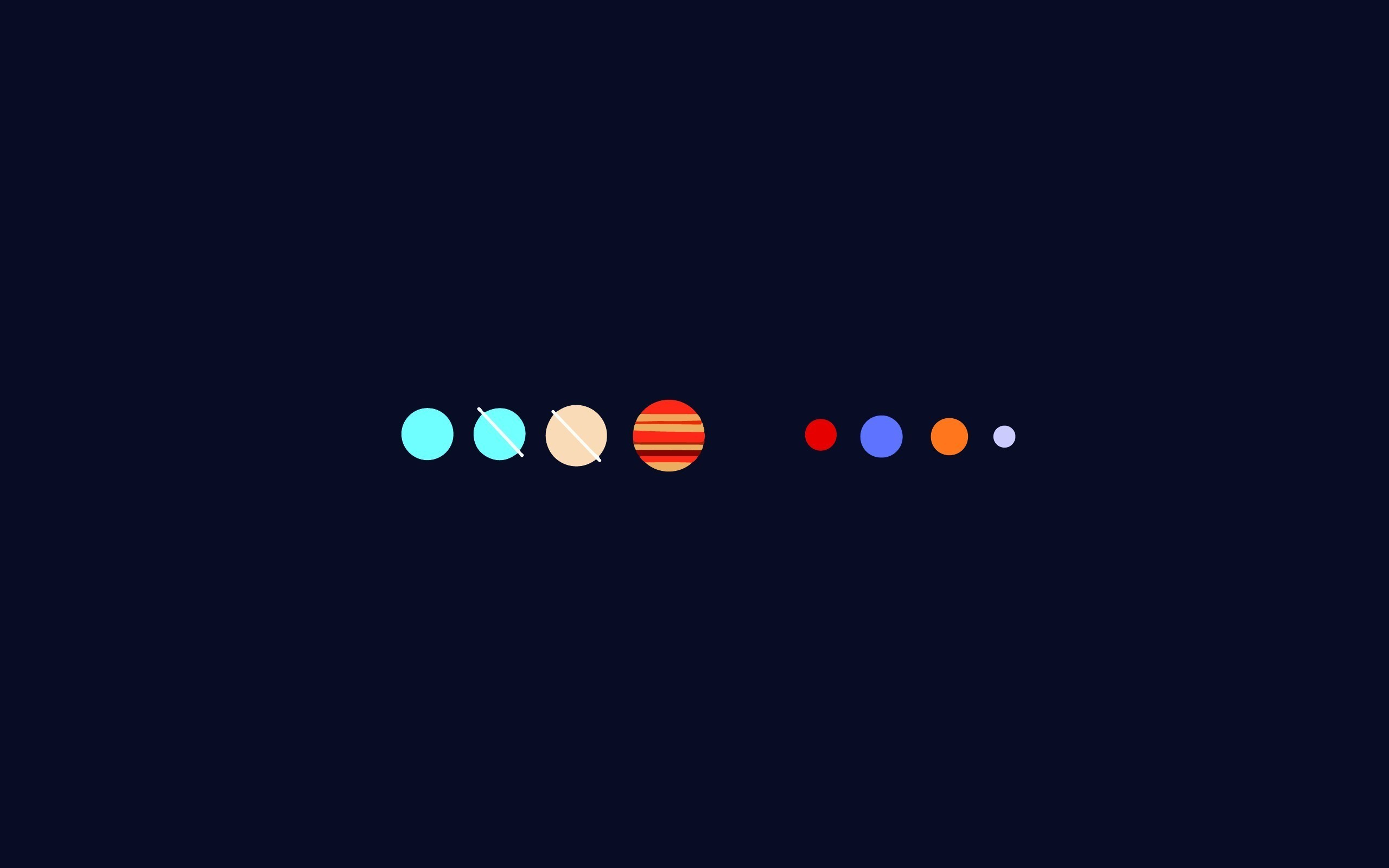 2560x1600 planet, Minimalism, Solar System Wallpapers HD / Desktop and Mobile  Backgrounds
