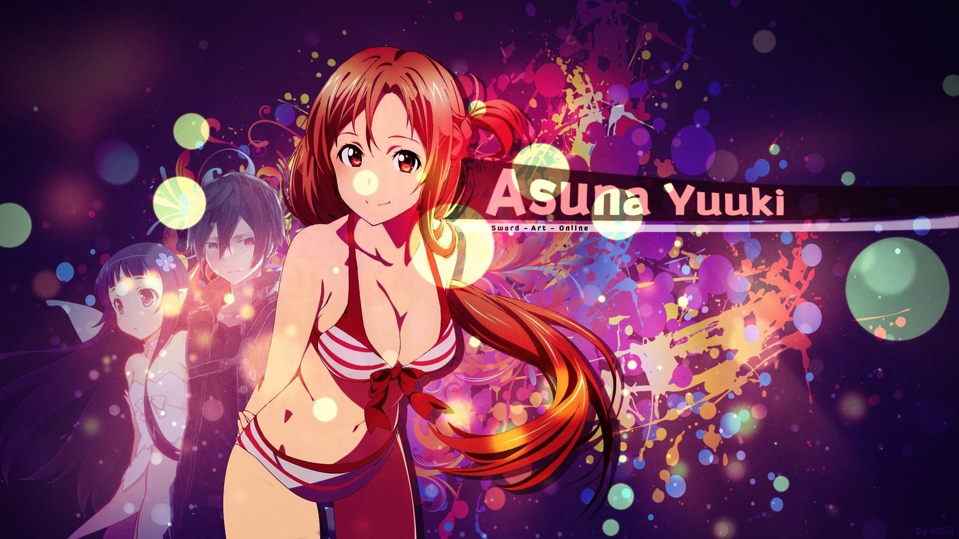 3840x1200 Wallpaper Asuna Yuuki Sword Art Online Ii