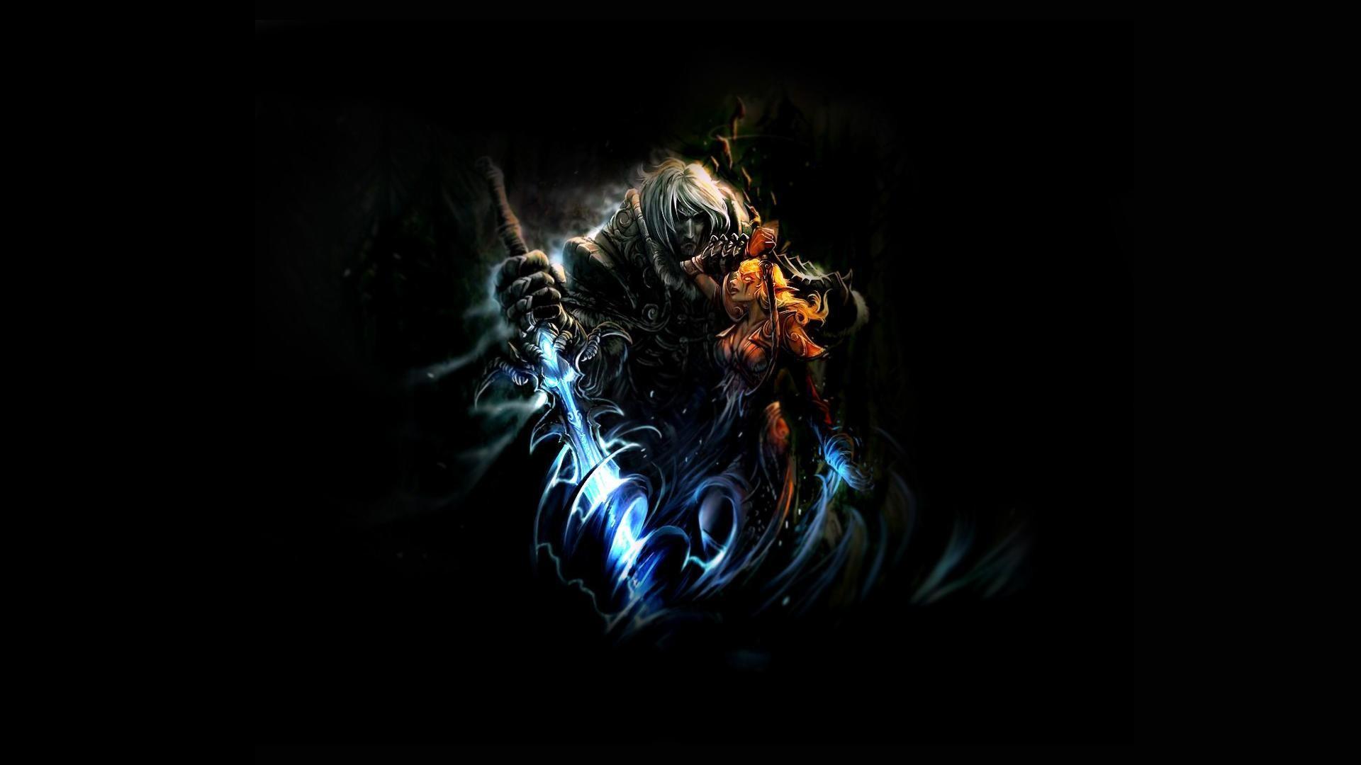 Fantasy Shaman Dark Female Art