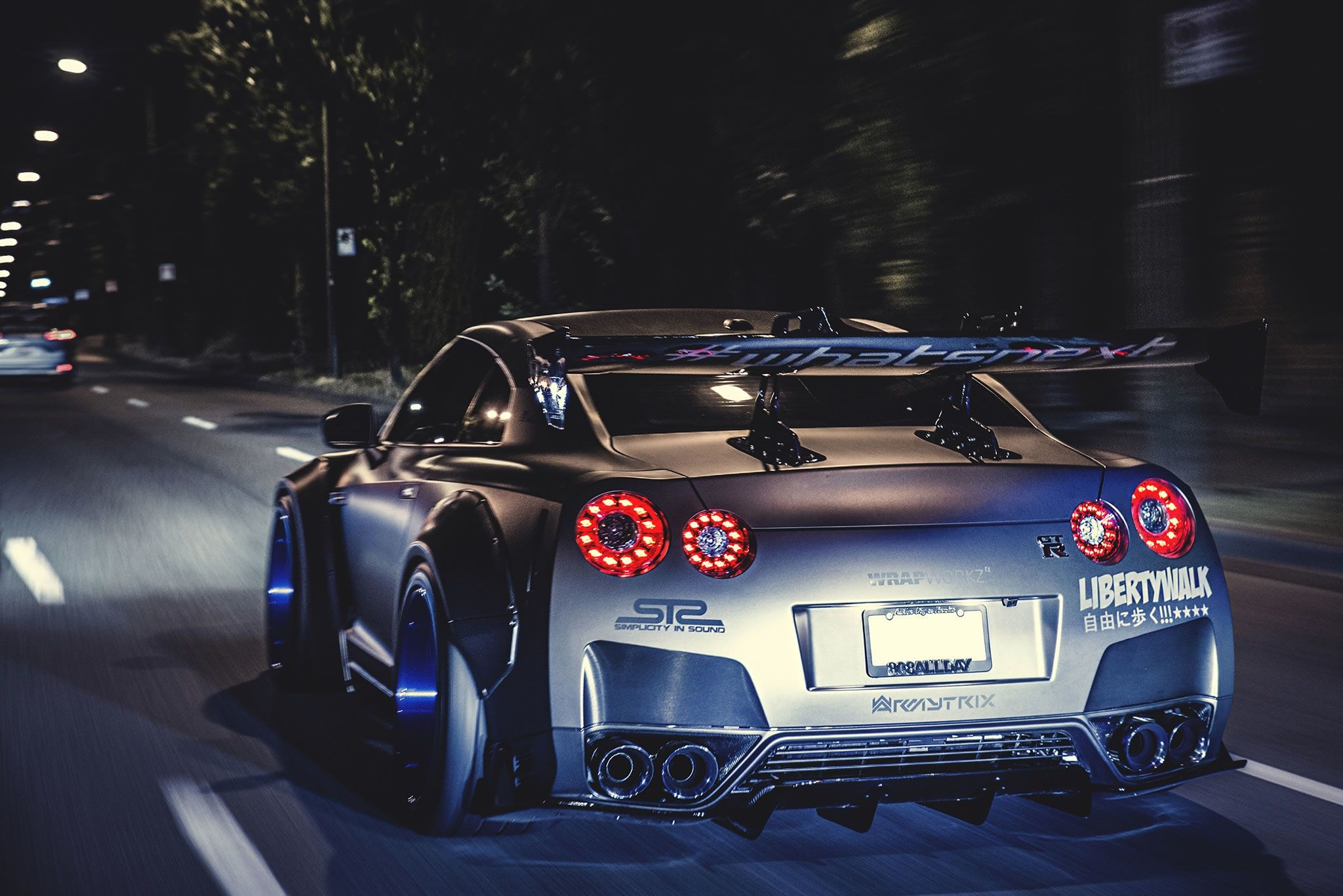 2048x1366 Nissan GTR Liberty Walk Wallpaper