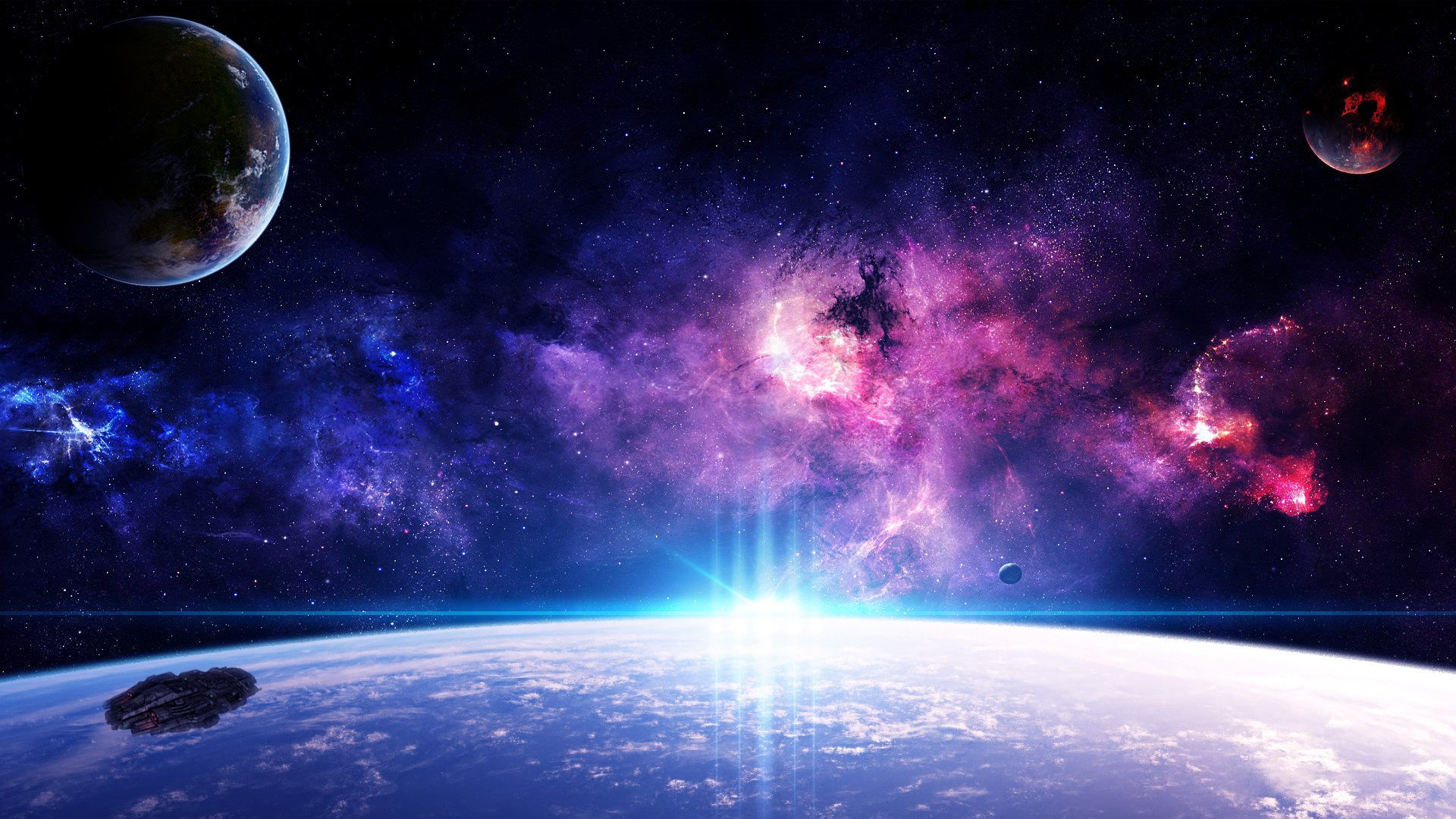 1920x1080 Hd Wallpapers For Your Desktop: Live Galaxy Wallpaper For PC (45+ Images
