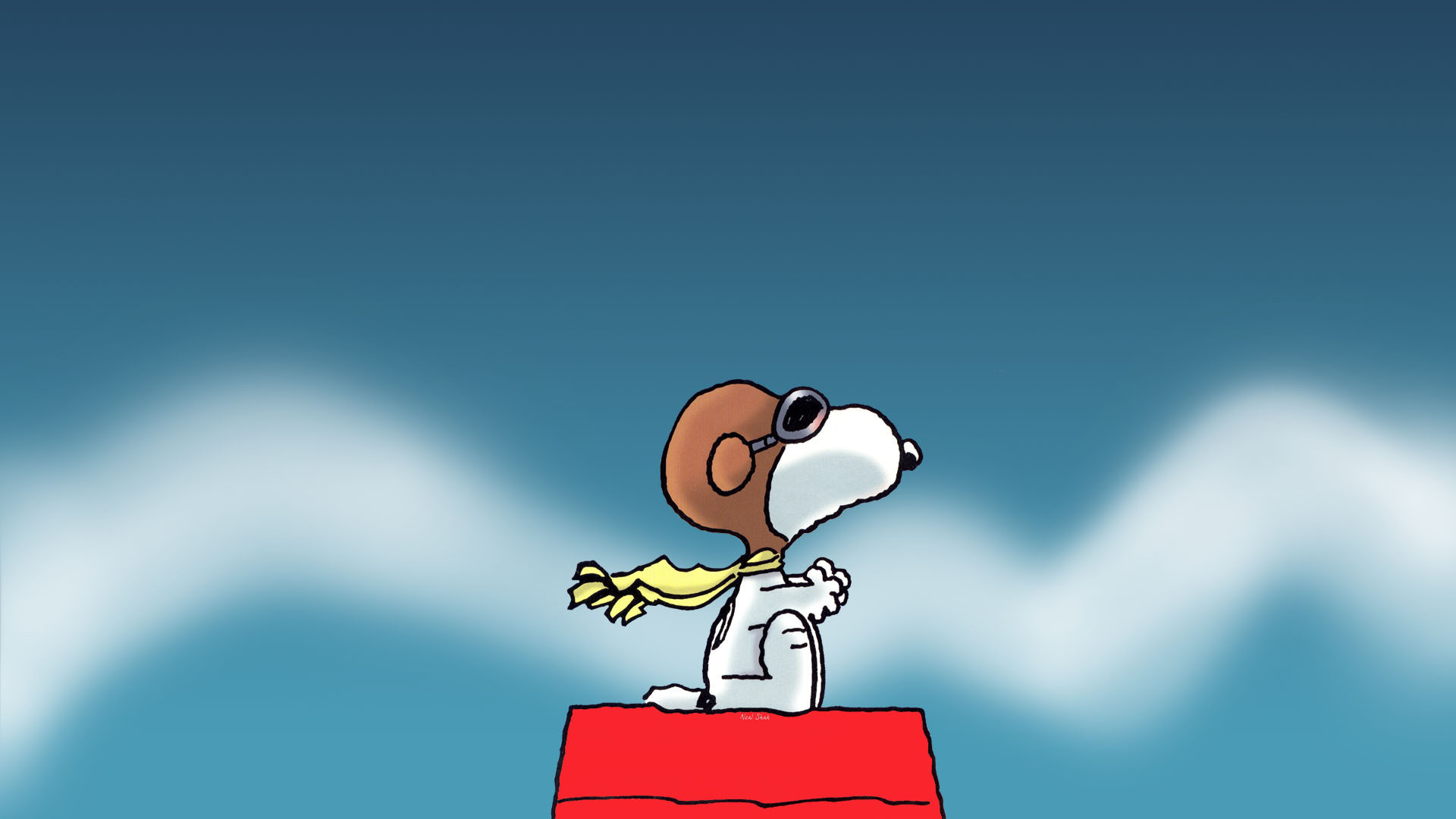 1920x1080 Free Snoopy Wallpapers