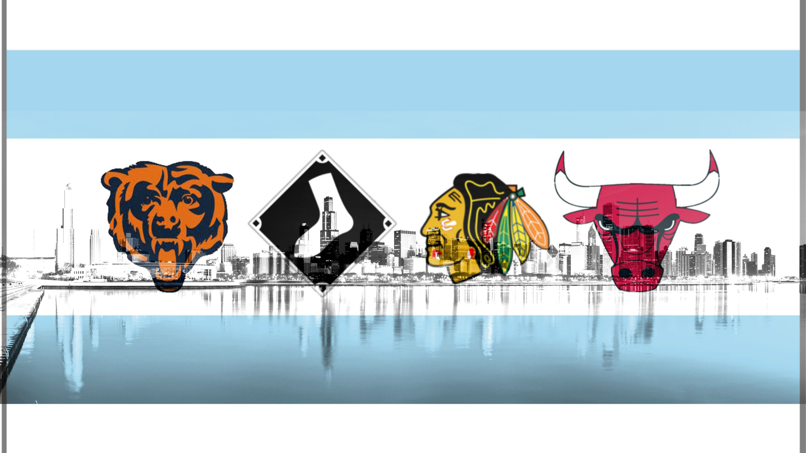 3240x1822 Chicago sports teams wallpaper. Chicago Sports Photos.