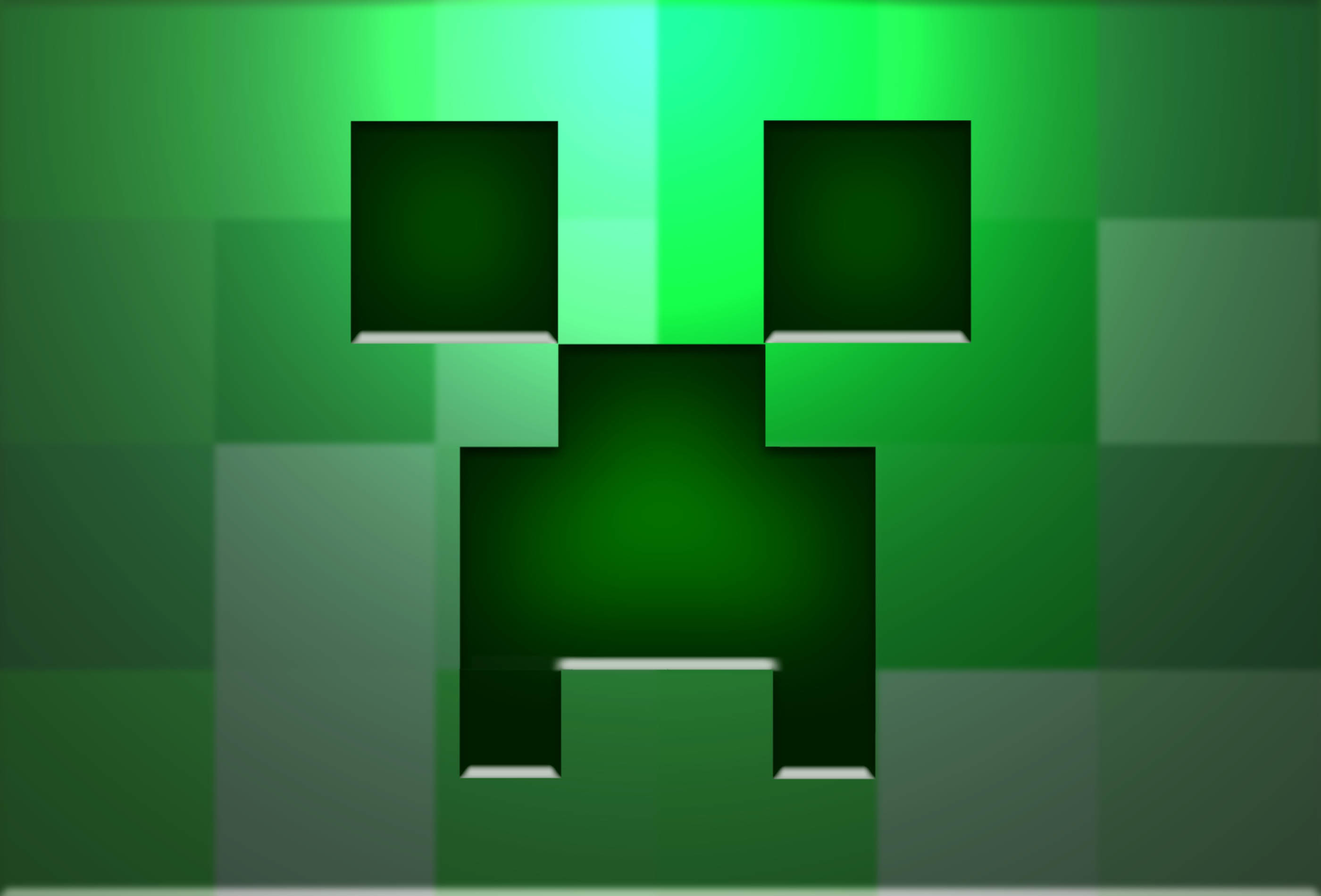 2800x1900 Minecraft Creeper Real Life