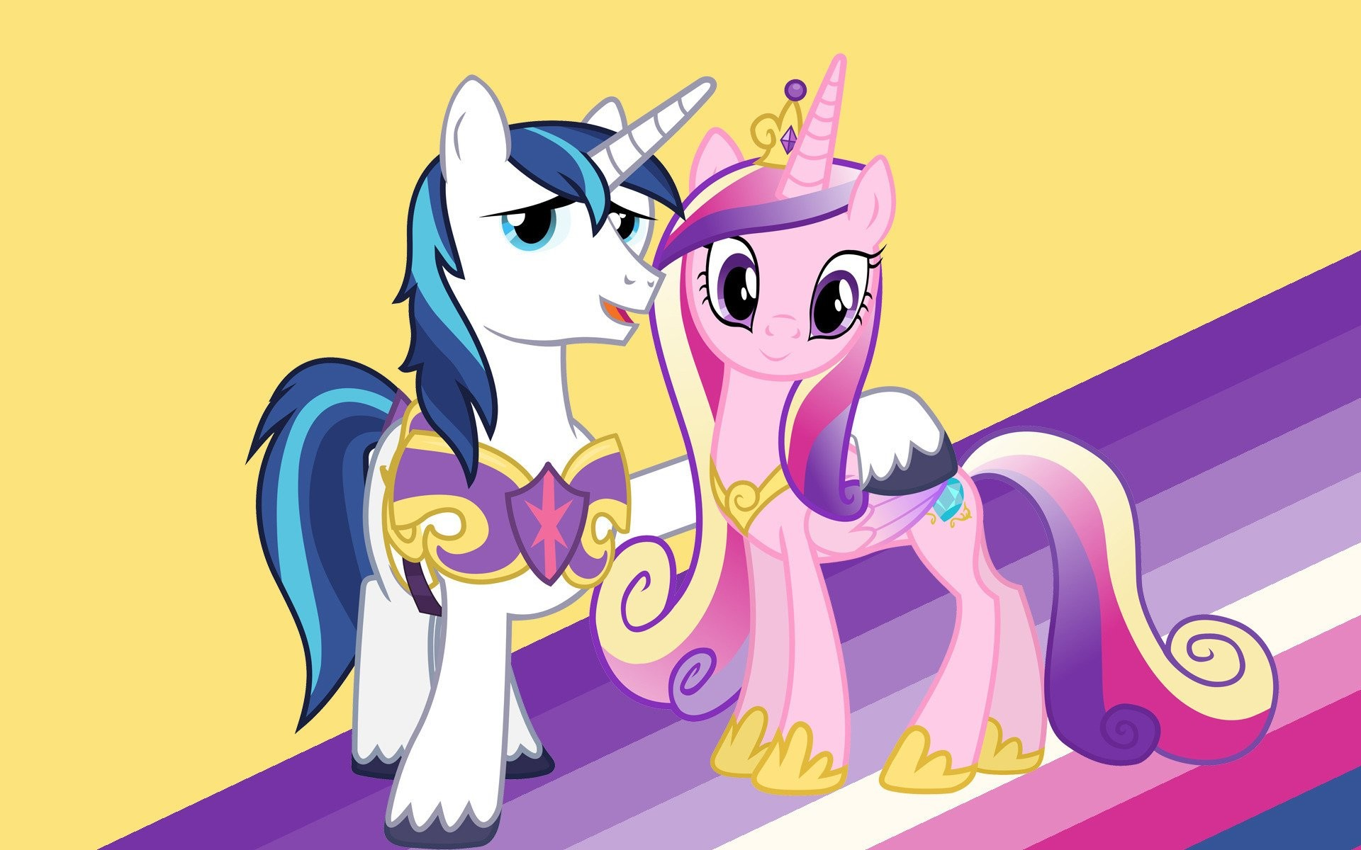 1920x1200 Princess Cadance And Shining Armor Wallpaper ...