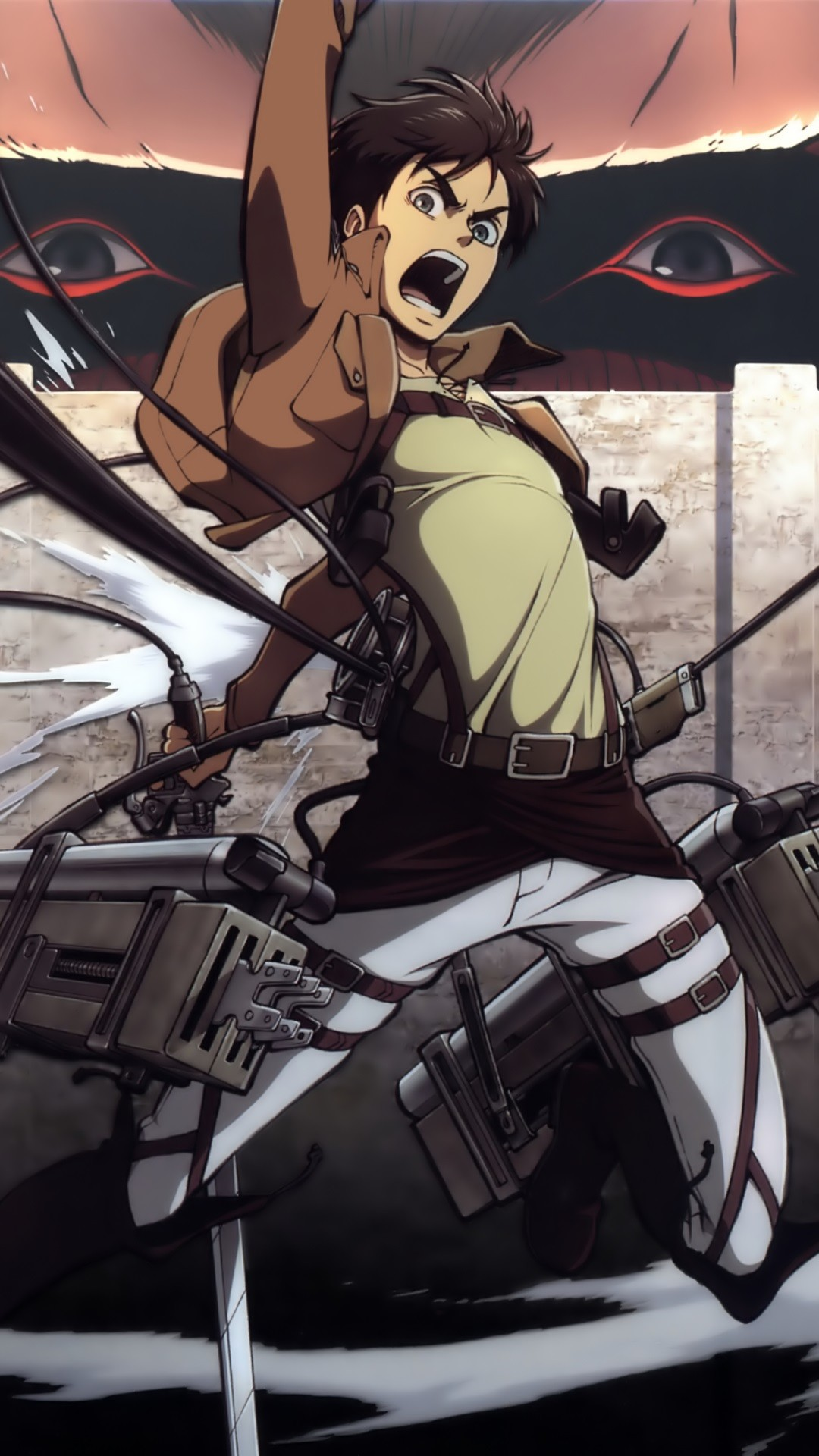 1080x1920 Attack On Titan Iphone Wallpaper Eren Shingeki no kyojin.eren jaeger