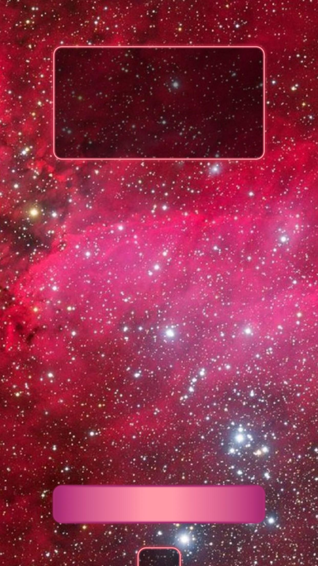 1242x2208 Dark Pink And Silver Glittery Lockscreen
