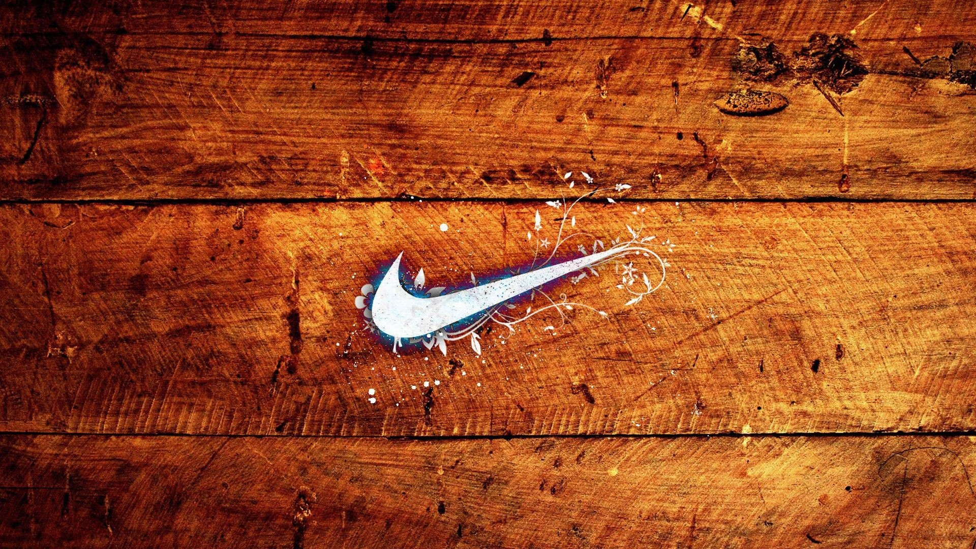 1920x1080 file_download nike on the wood