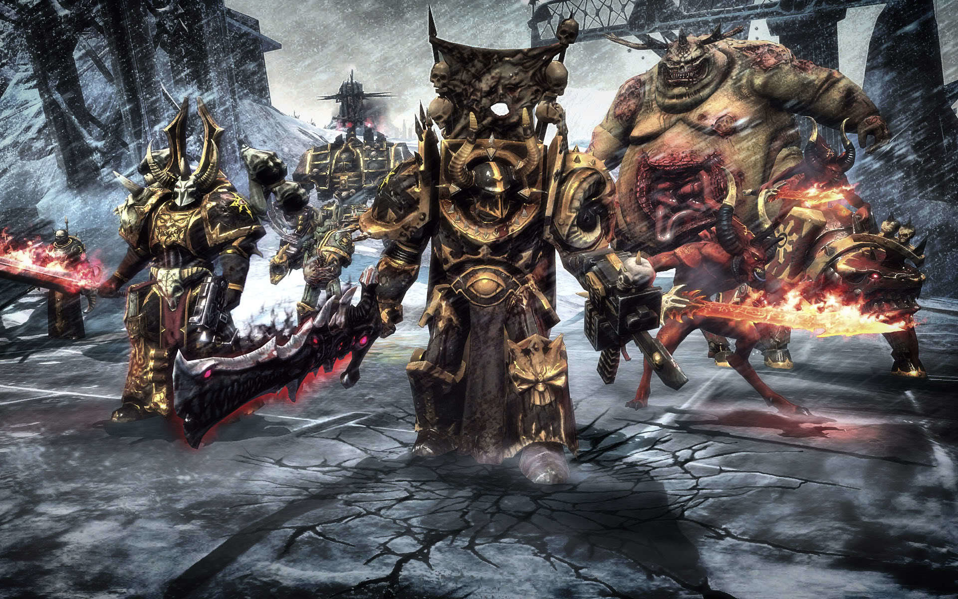 1920x1200 Warhammer warhammer 40k nurgle space marine chaos wallpaper background
