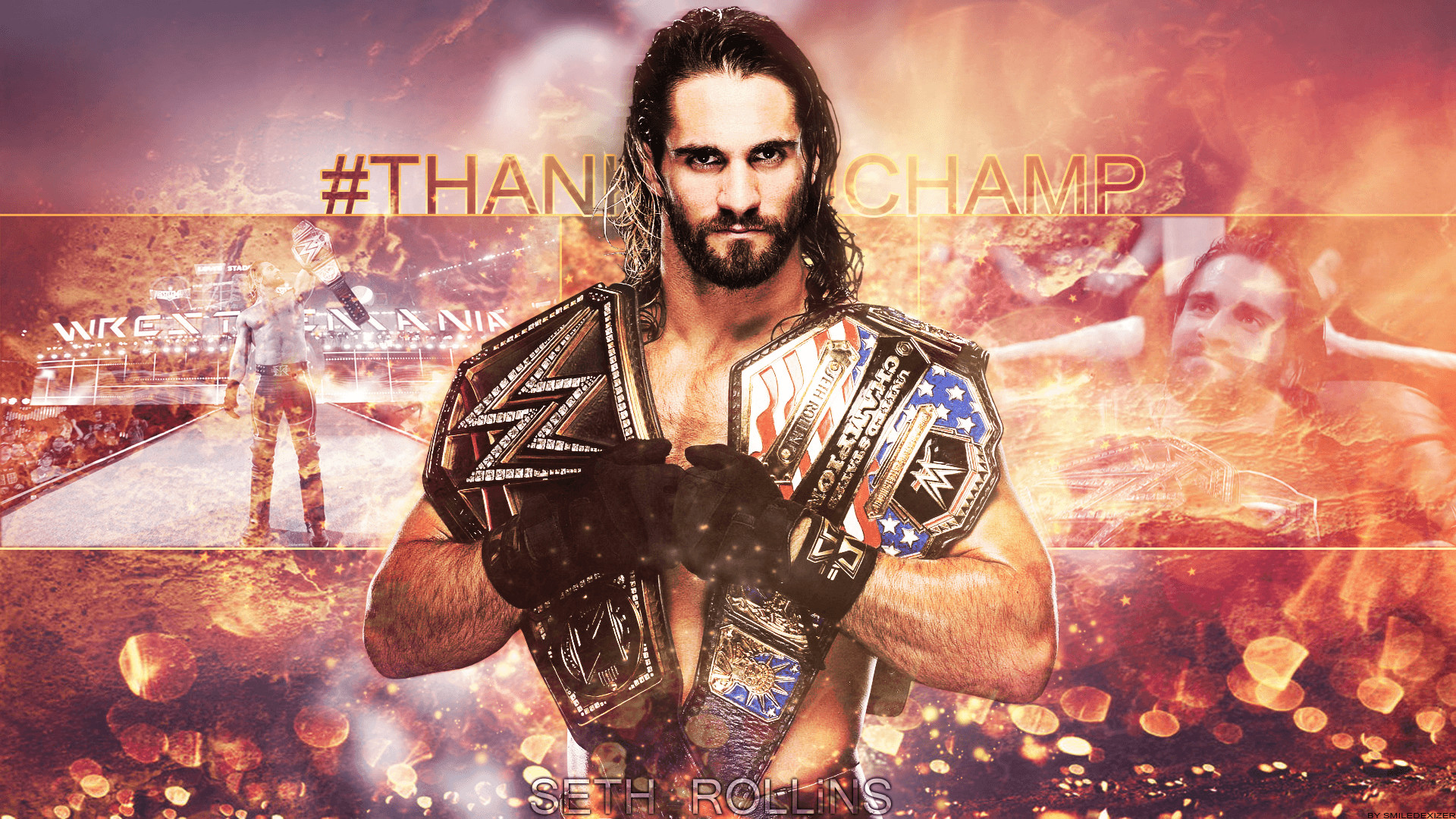 Seth Rollins HD Wallpaper (76+ images)